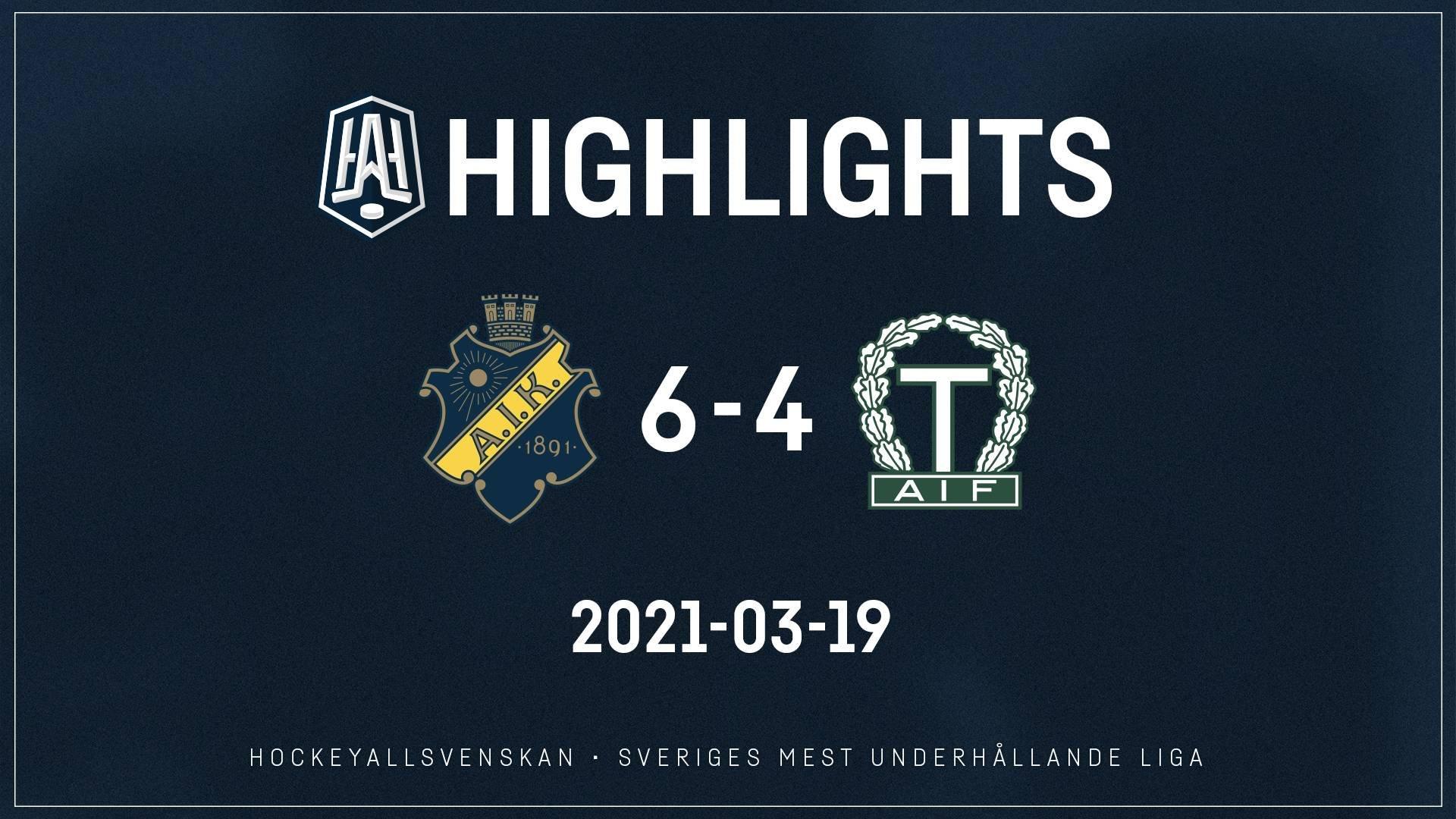 2021-03-19 AIK - Tingsryd 6-4