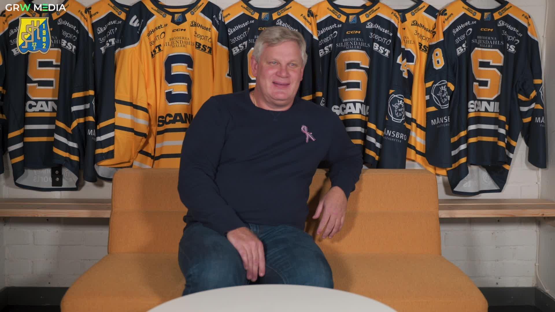 Intervju med klubbdirektör Robban Anderssonon