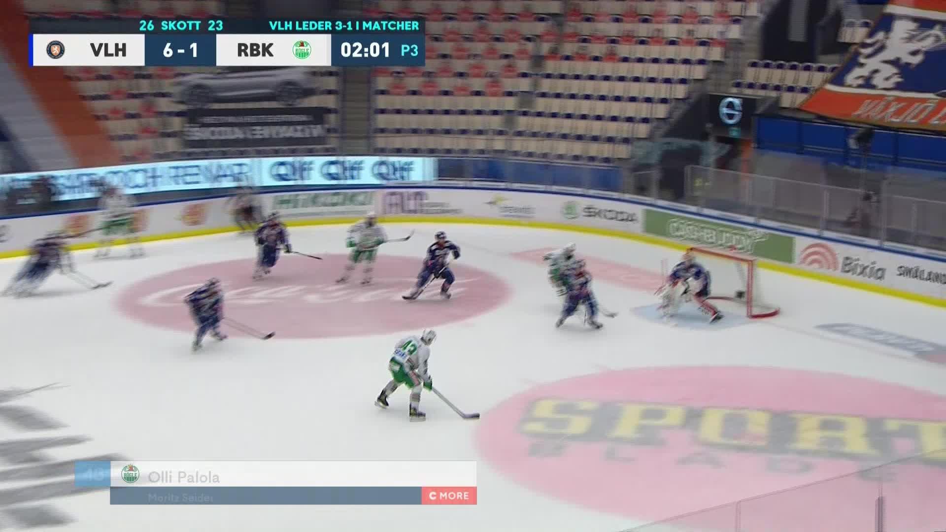Växjö Lakers - Rögle BK 6-2