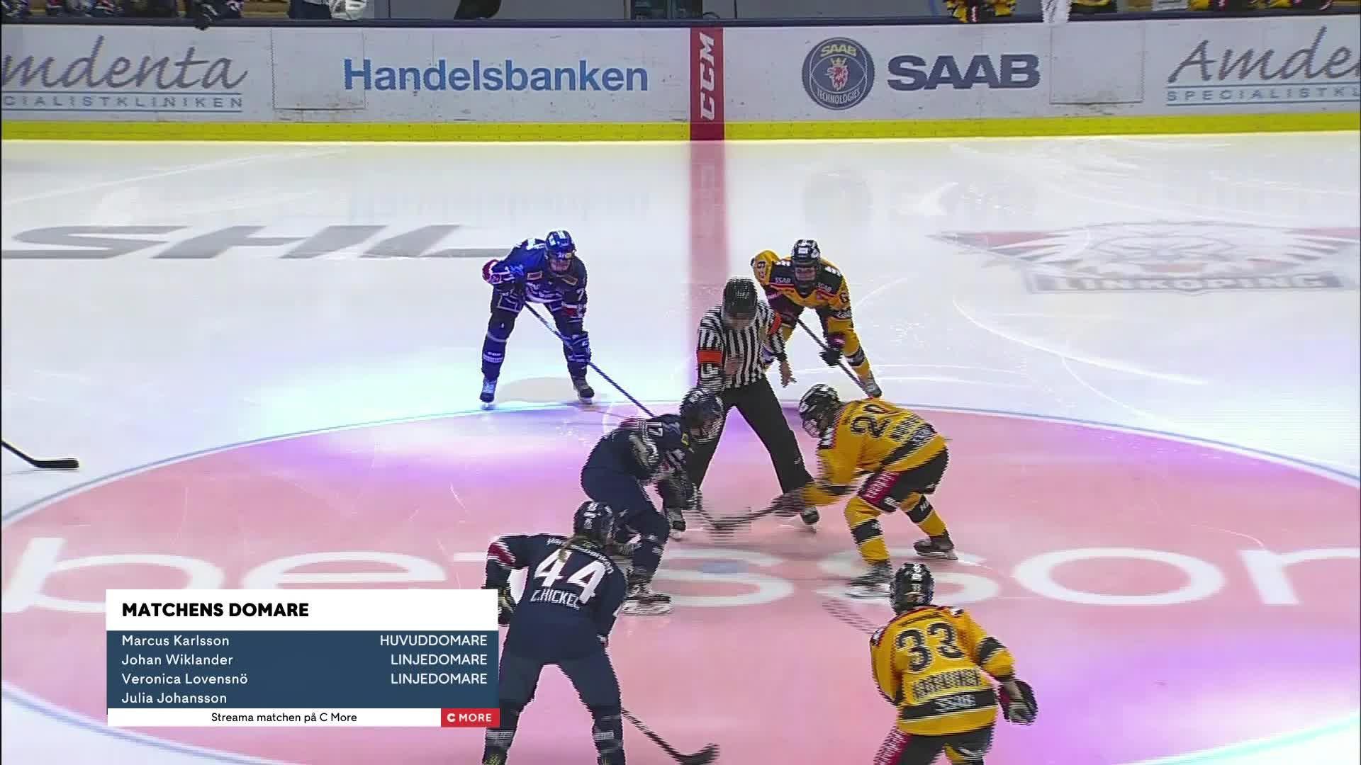 Highlights Kvartsfinal 1: Linköping-Luleå/MSSK 19 feb