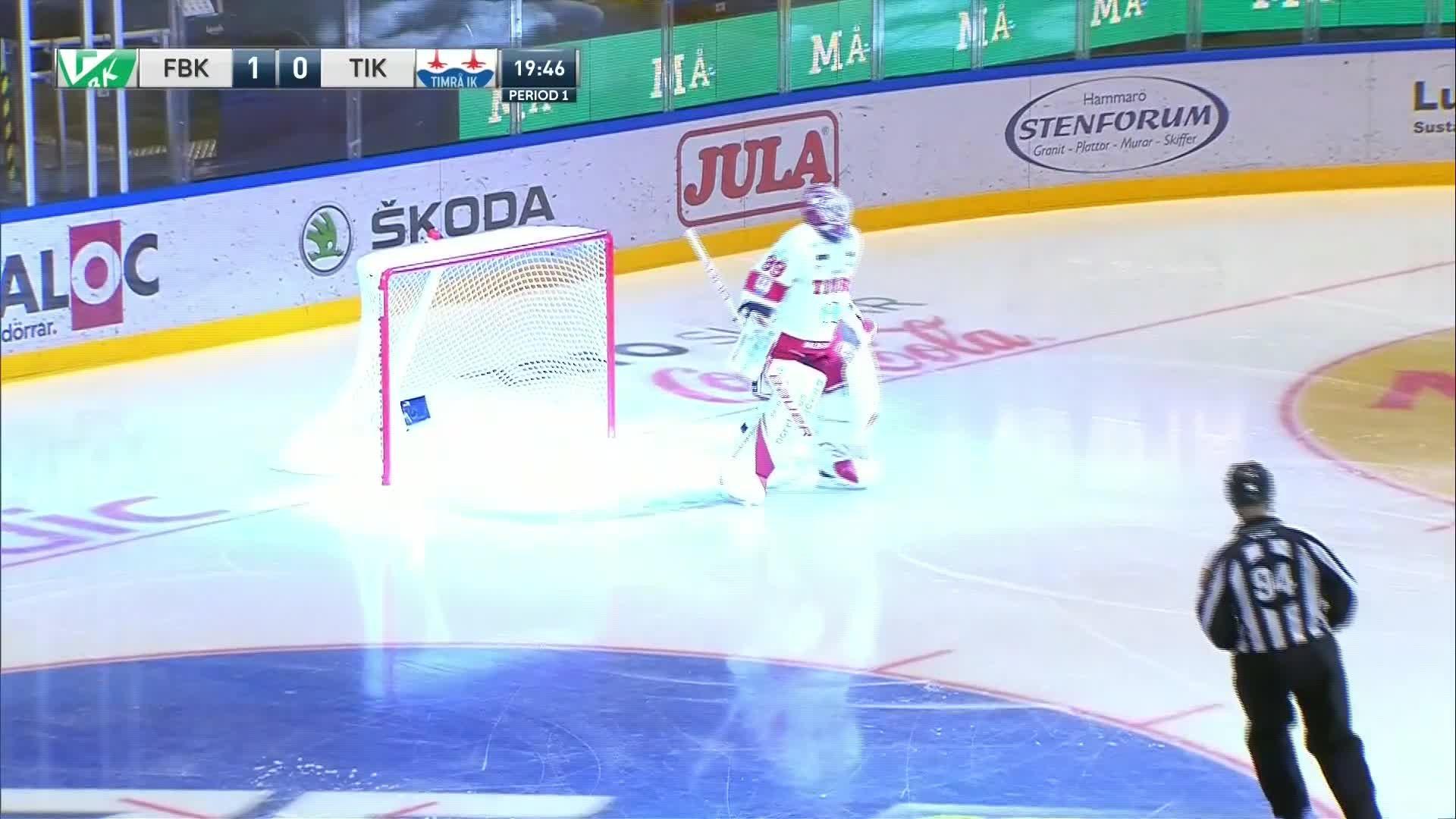 Färjestad BK - Timrå IK 1-0