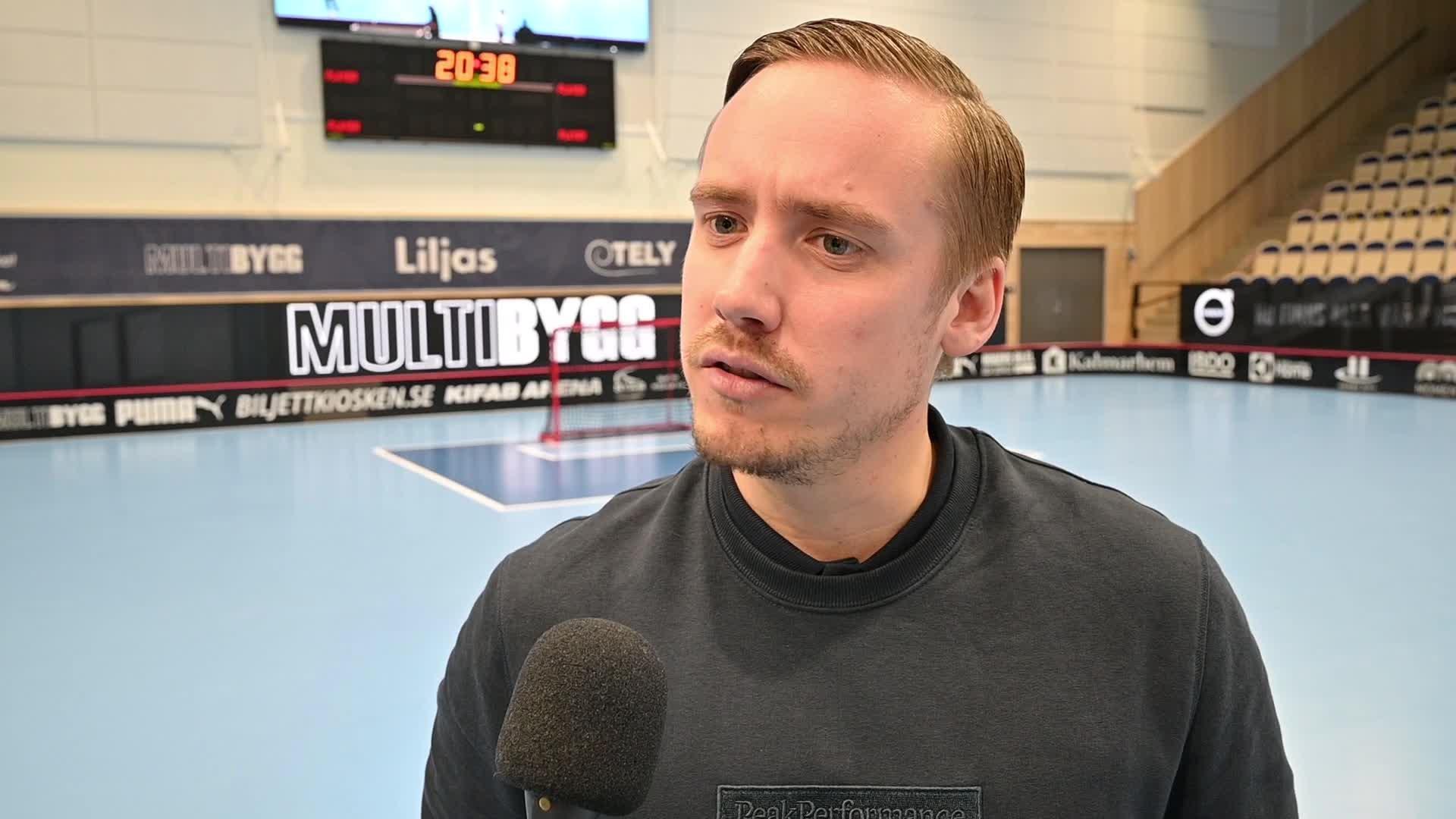 Viktor Gustavsson efter tredje kvartsfinalen