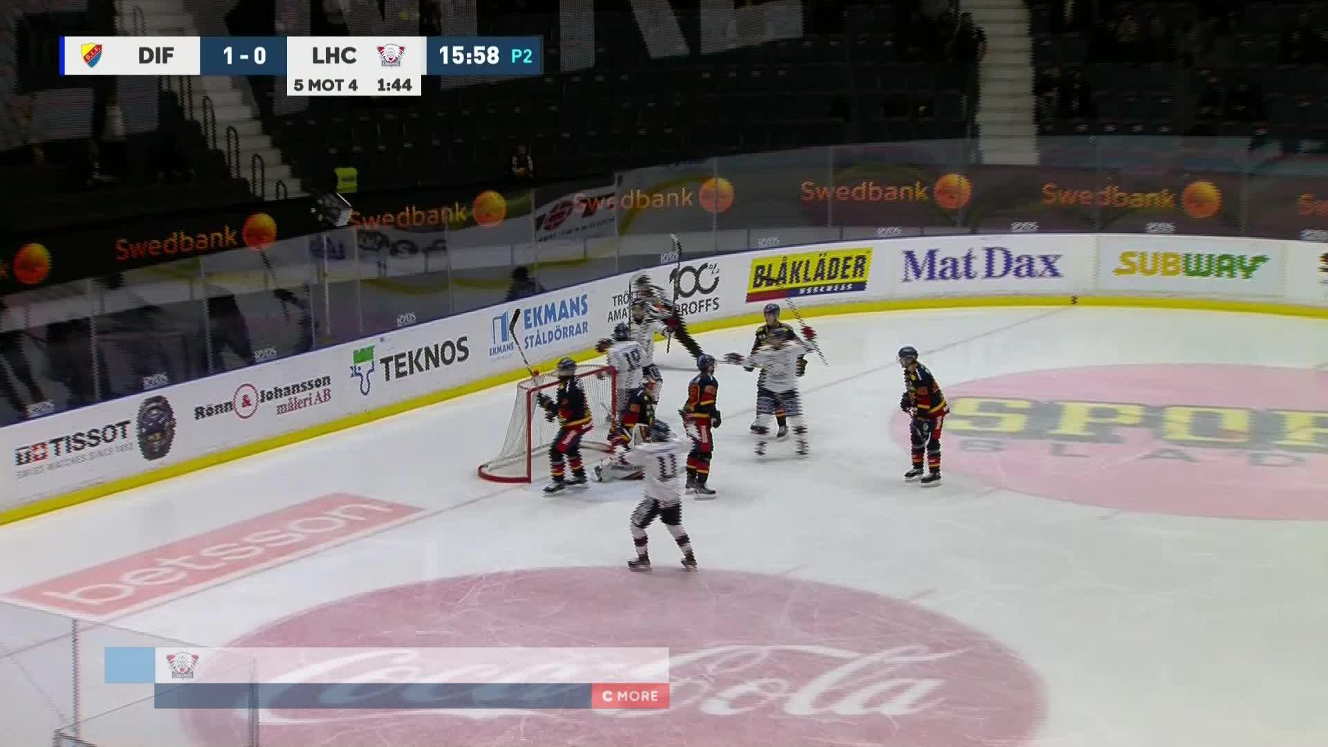 Djurgården Hockey - Linköping HC 1-1
