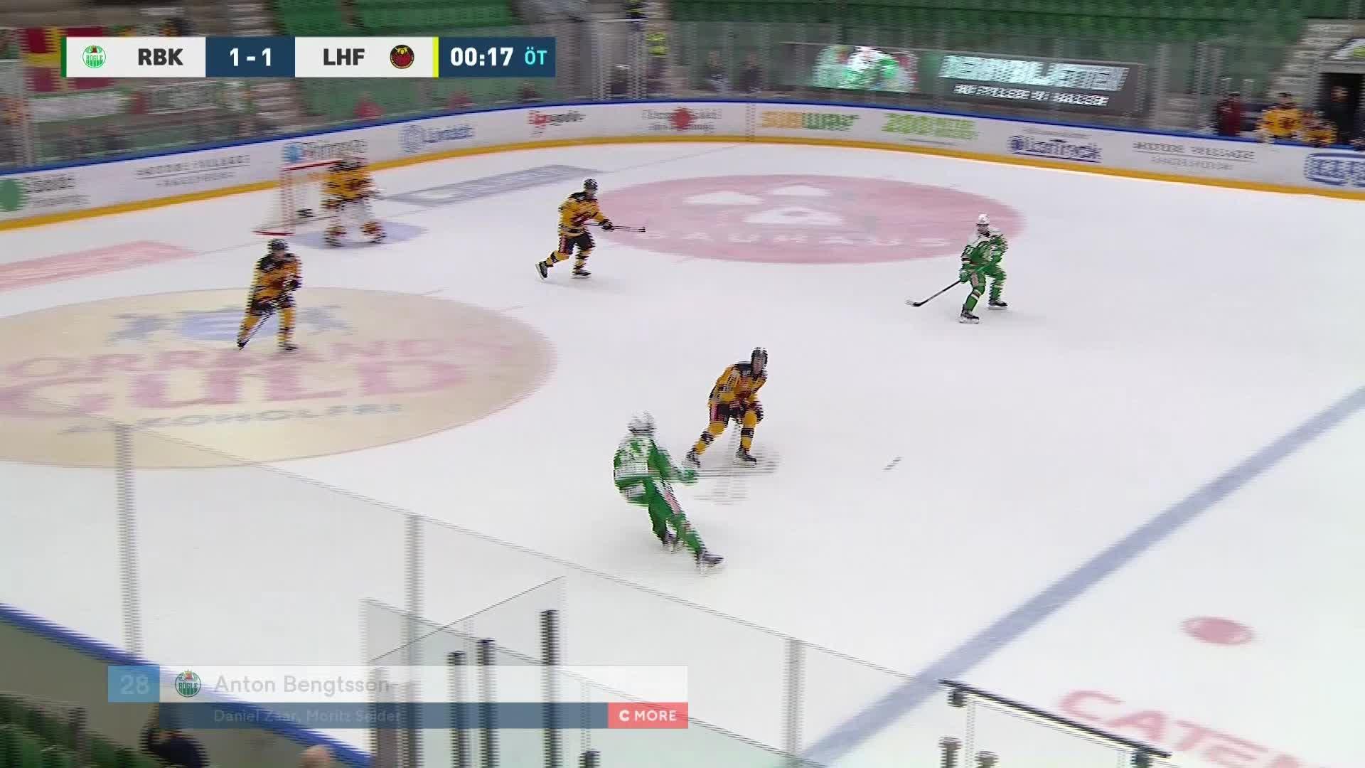 Rögle BK - Luleå Hockey 2-1