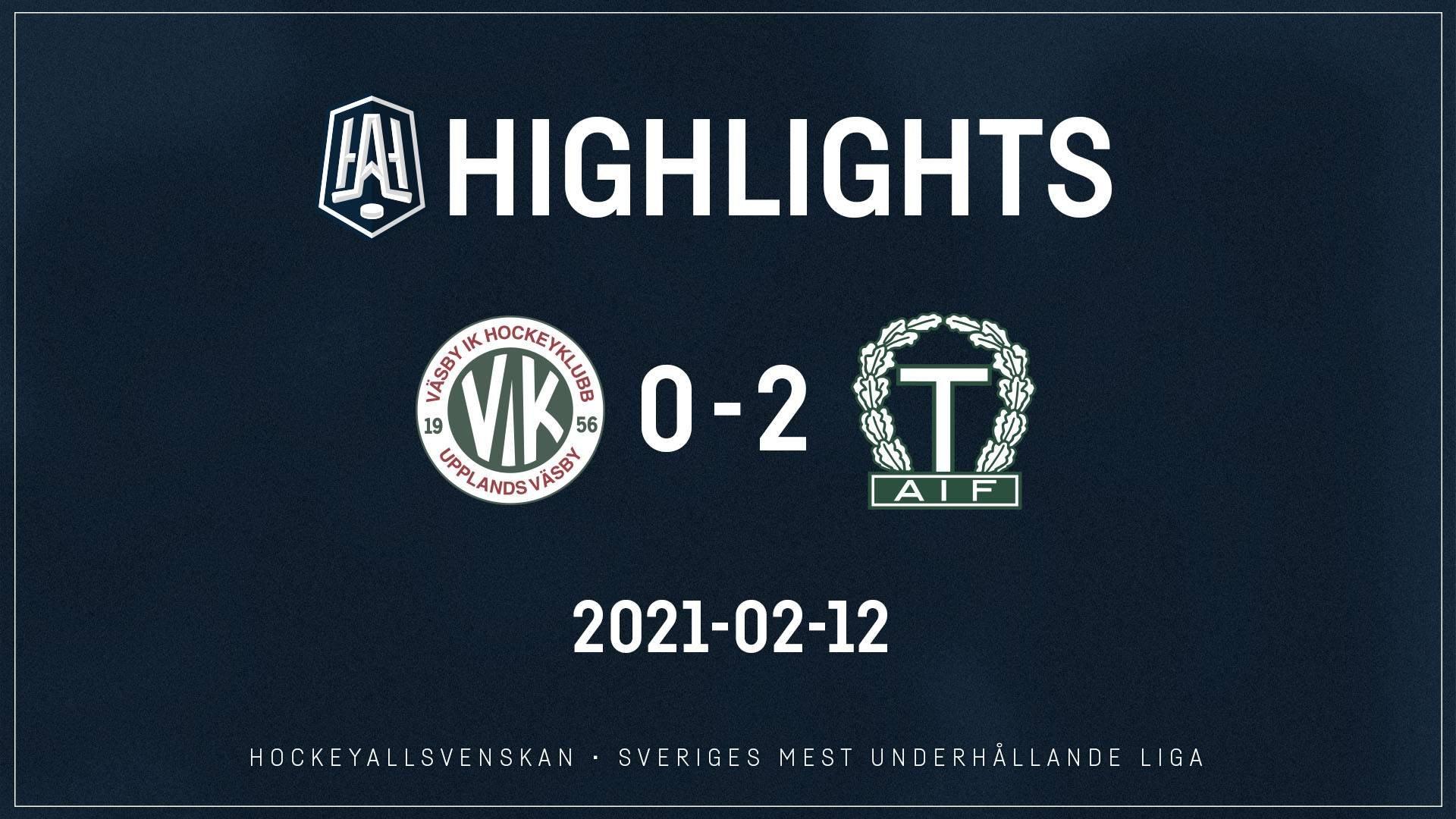 2021-02-12 Väsby - Tingsryd 0-2