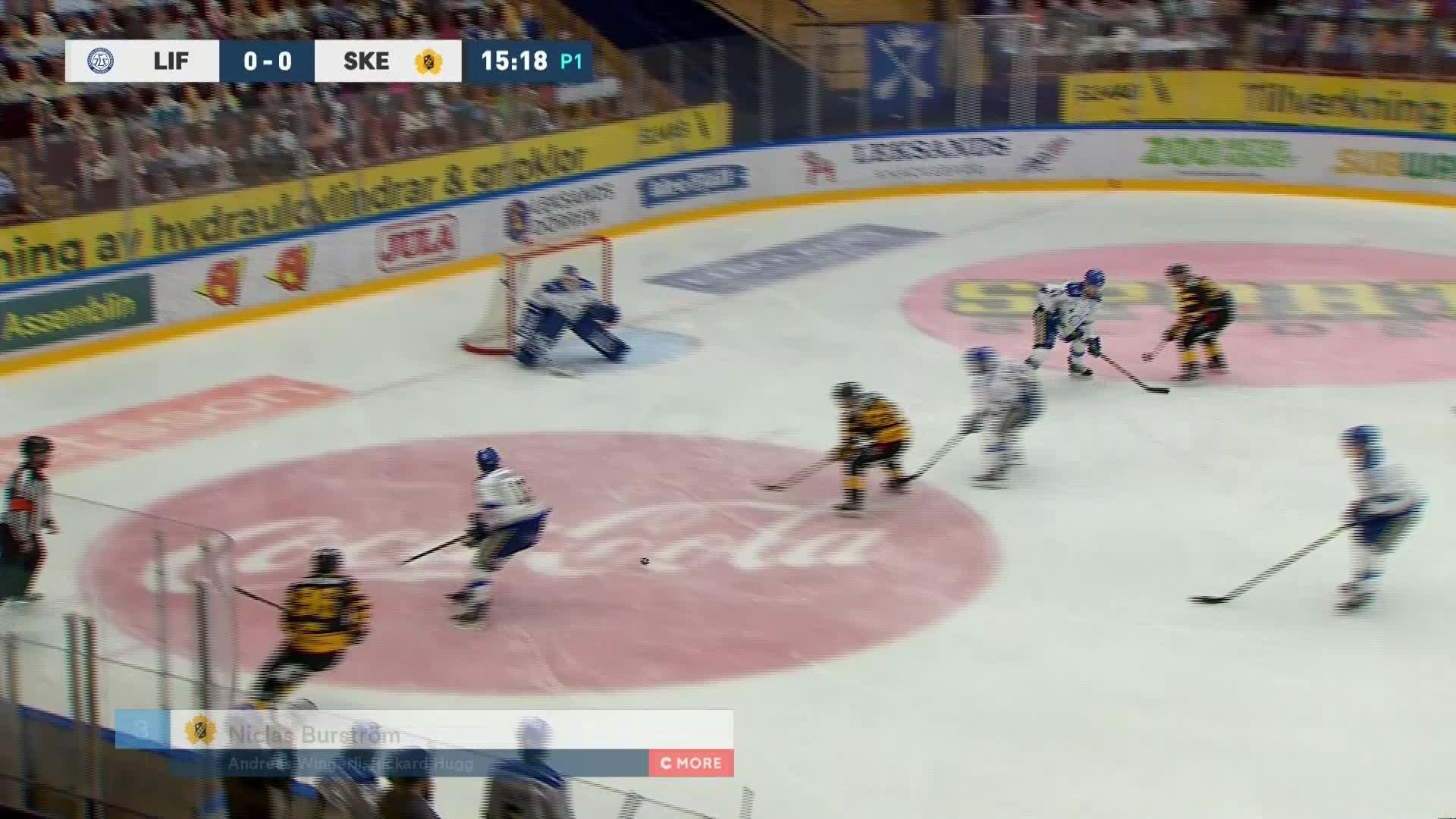 Leksands IF - Skellefteå AIK 0-1