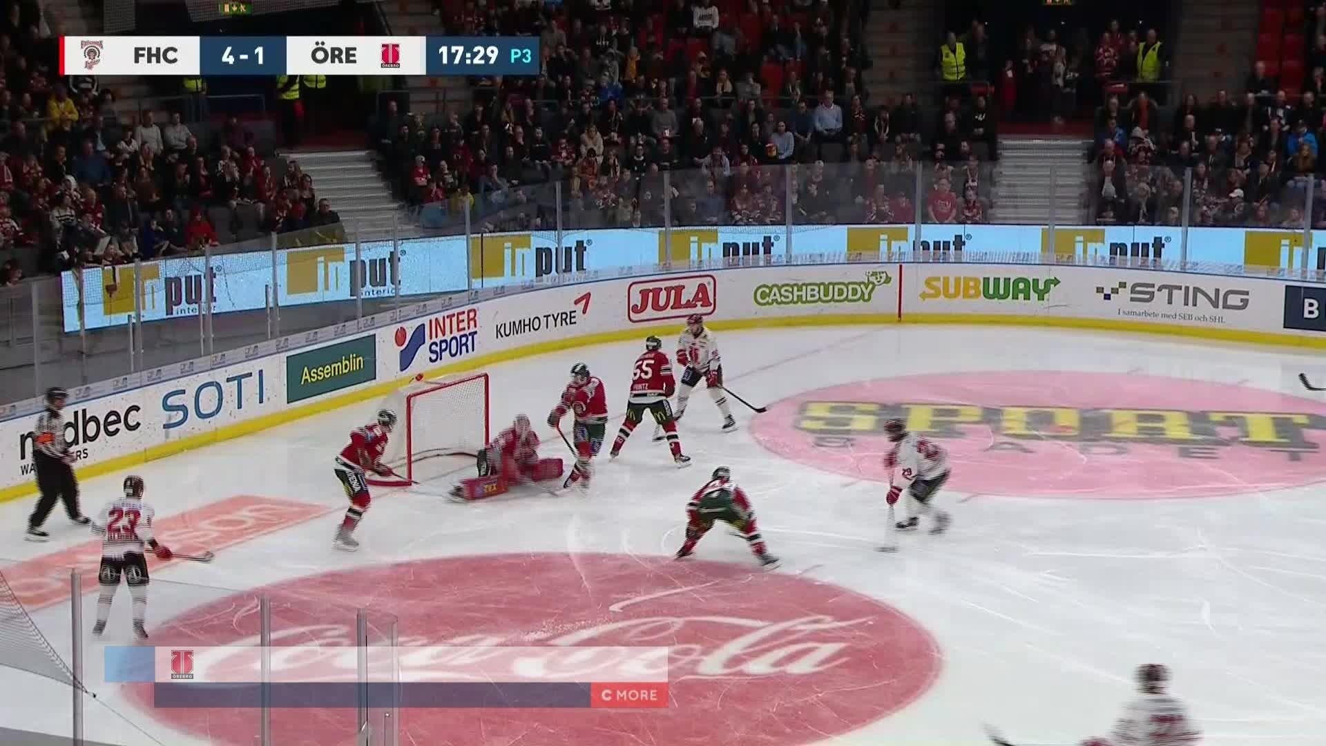 Frölunda HC - Örebro Hockey 4-2