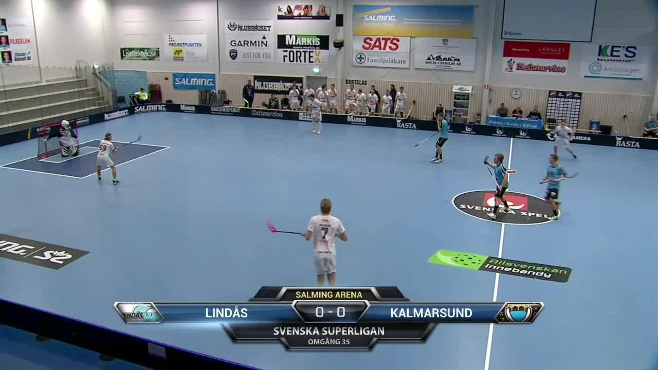 Senaste matchen: Lindås Waves - FBC Kalmarsund
