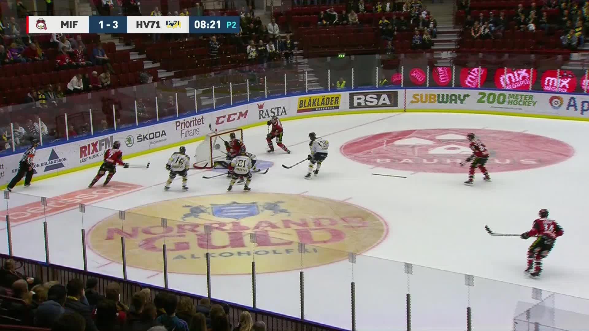 Malmö Redhawks - HV71 2-3
