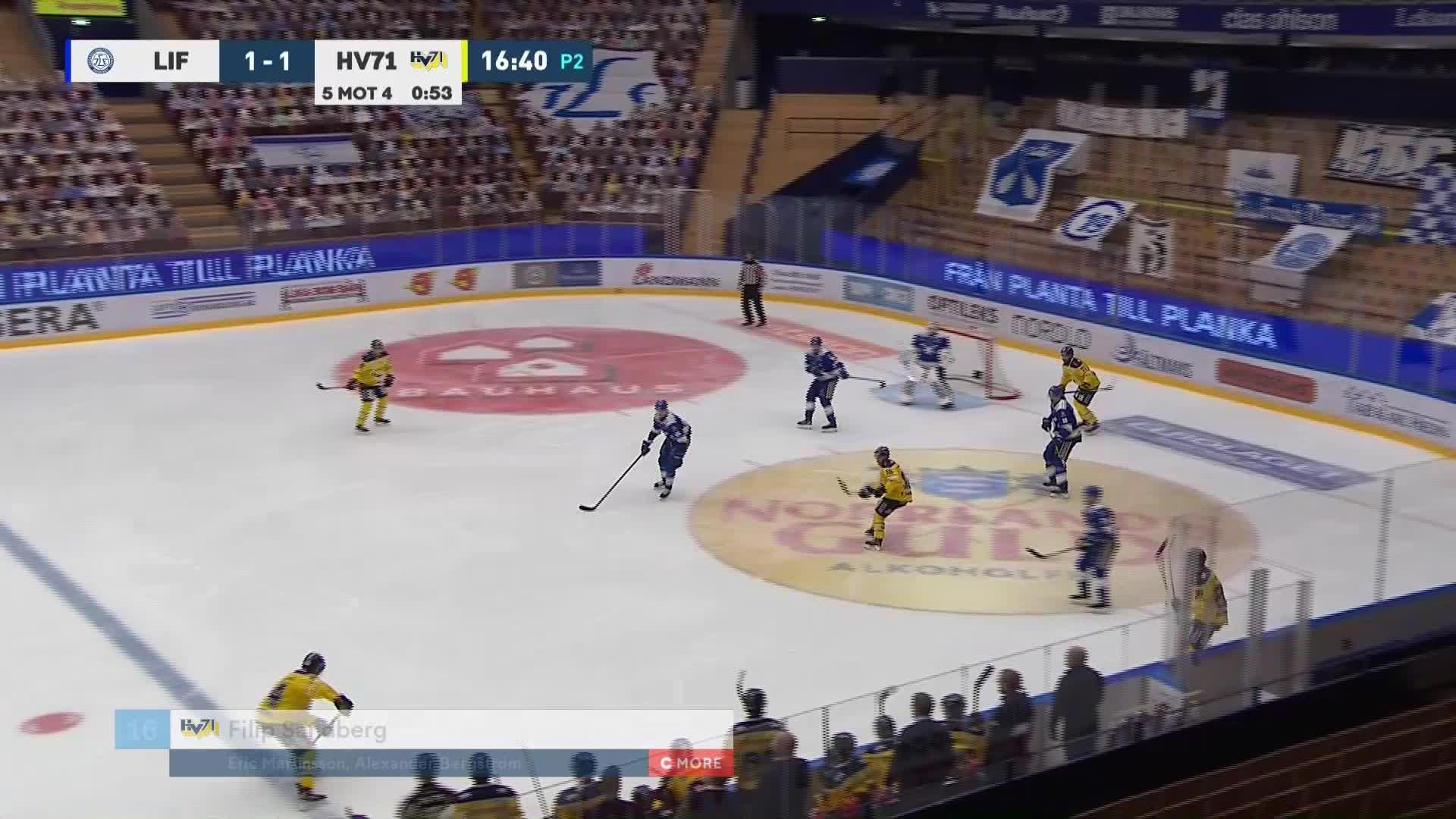 Leksands IF - HV71 1-2