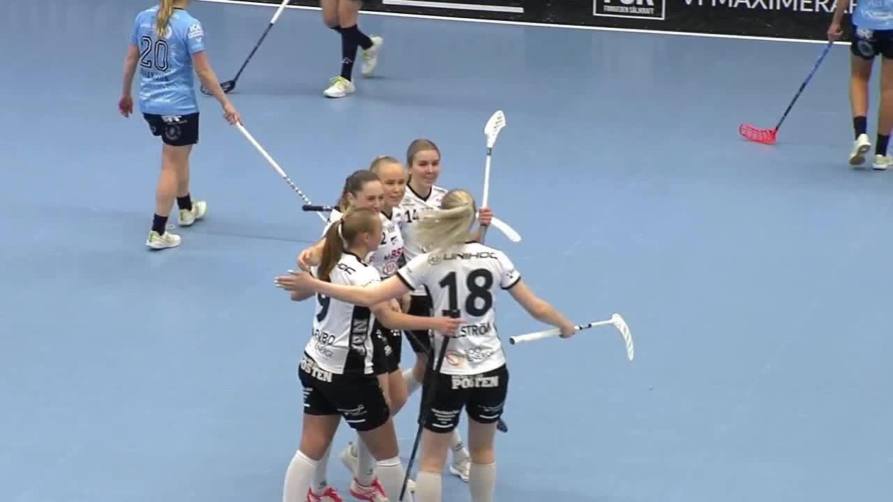 Highlights: Warberg IC - Nacka Wallenstam IBK
