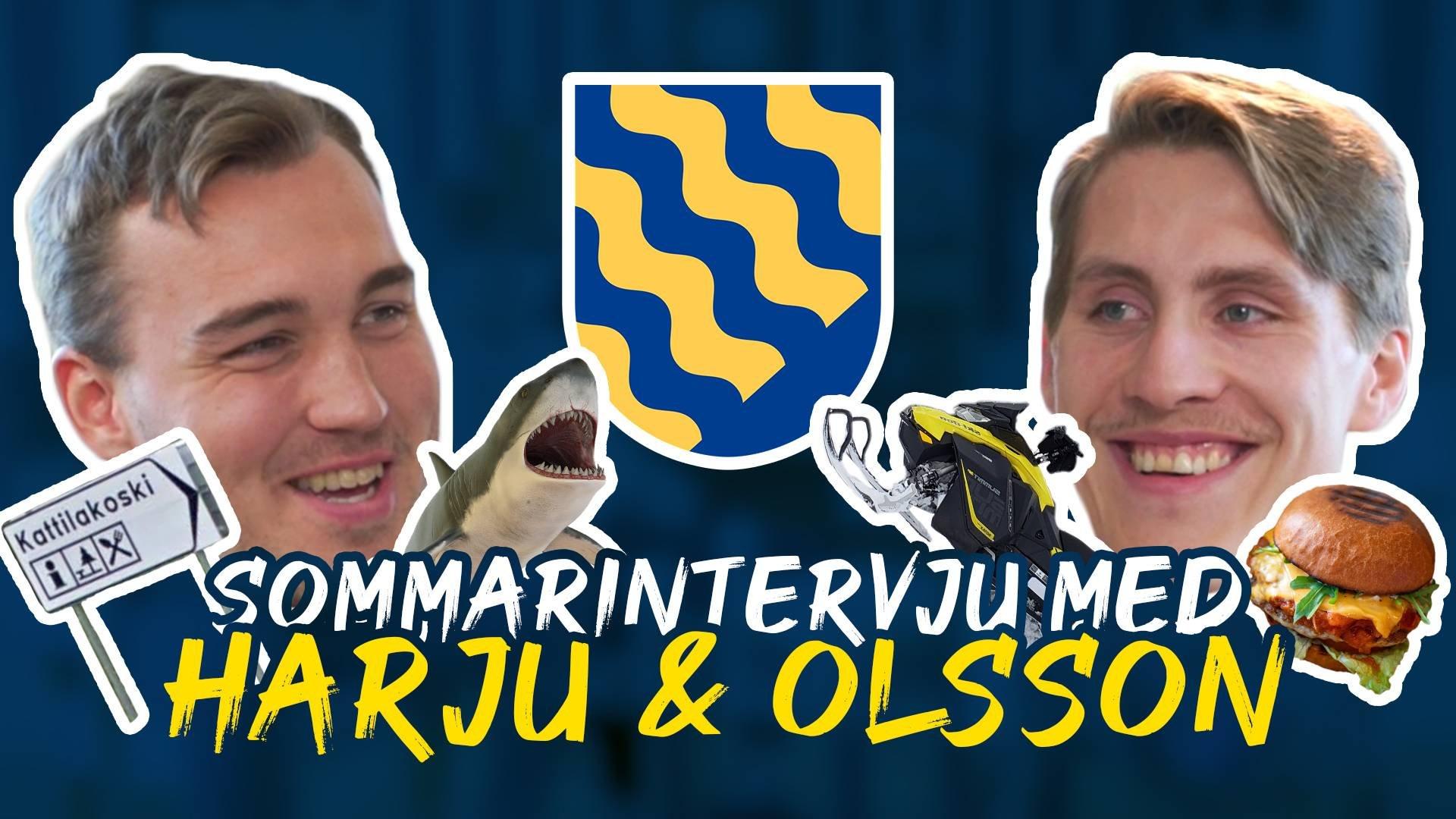 Sommarintervju med Harju & Olsson