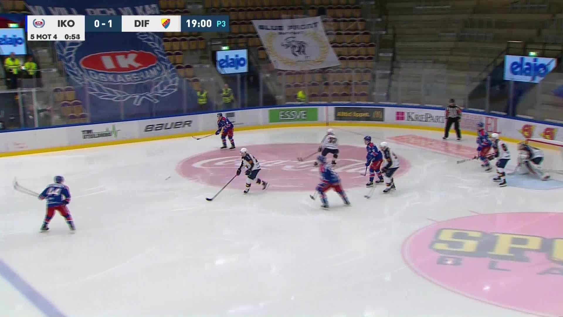 IK Oskarshamn - Djurgården Hockey 1-1