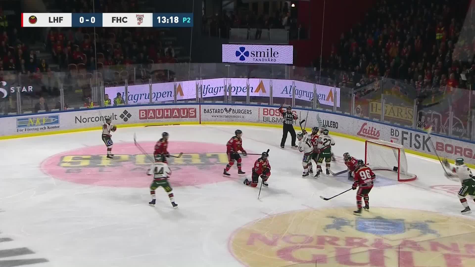 Luleå Hockey - Frölunda HC 0-1