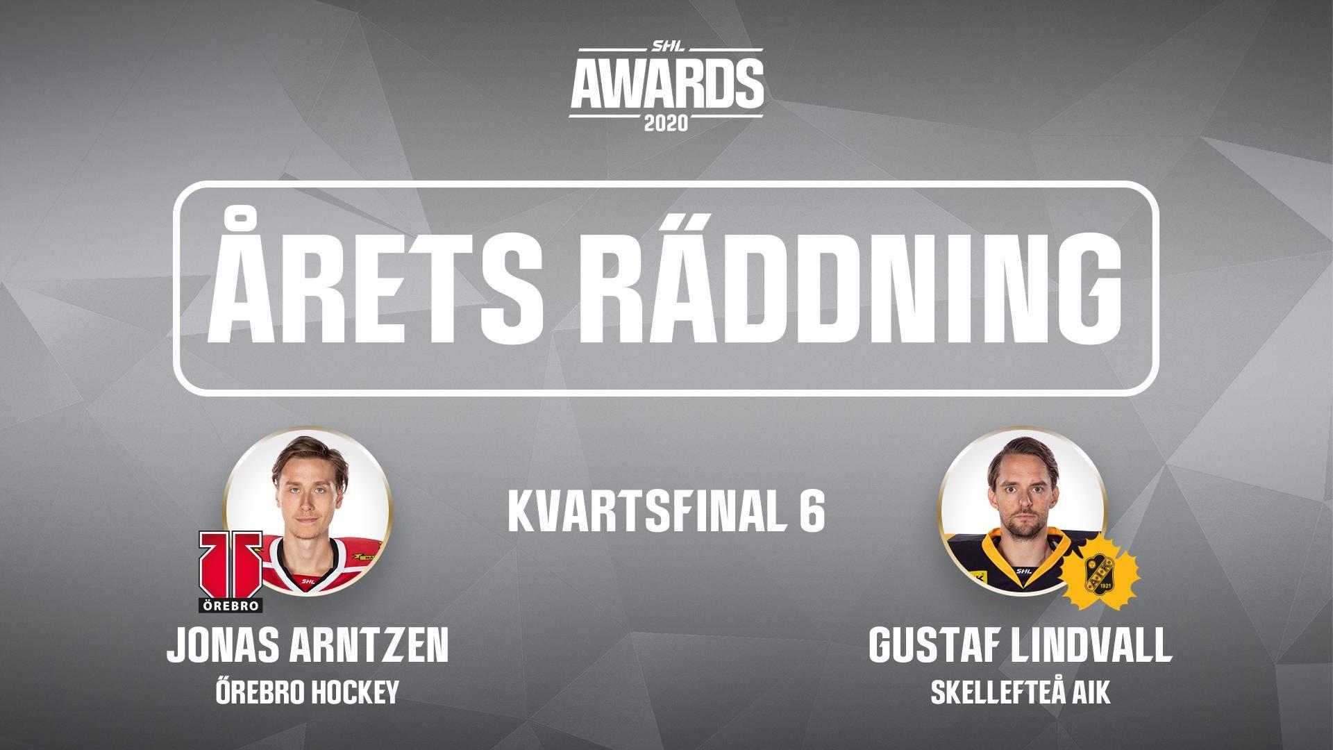 Årets räddning 2019/2020 - Kvartsfinal 6