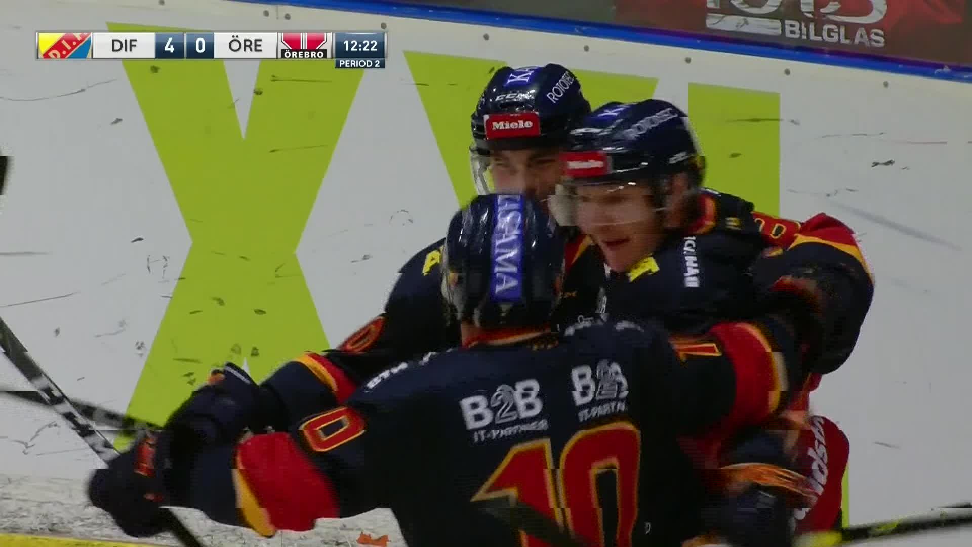 Djurgården Hockey - Örebro Hockey 4-0