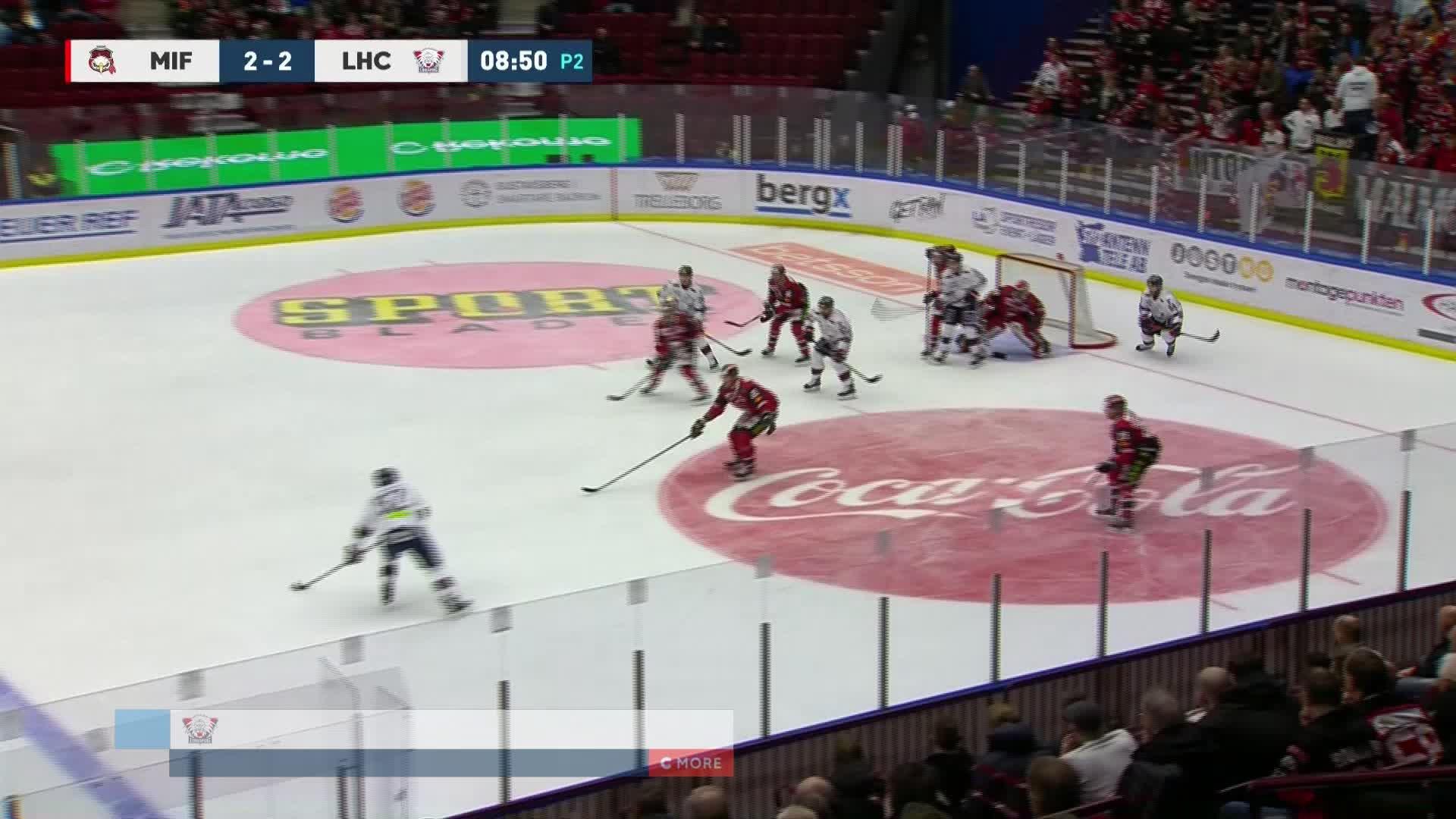 Malmö Redhawks - Linköping HC 2-3