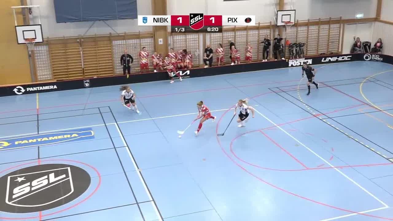 Highlights: Nacka IBK-Pixbo Wallenstam IBK