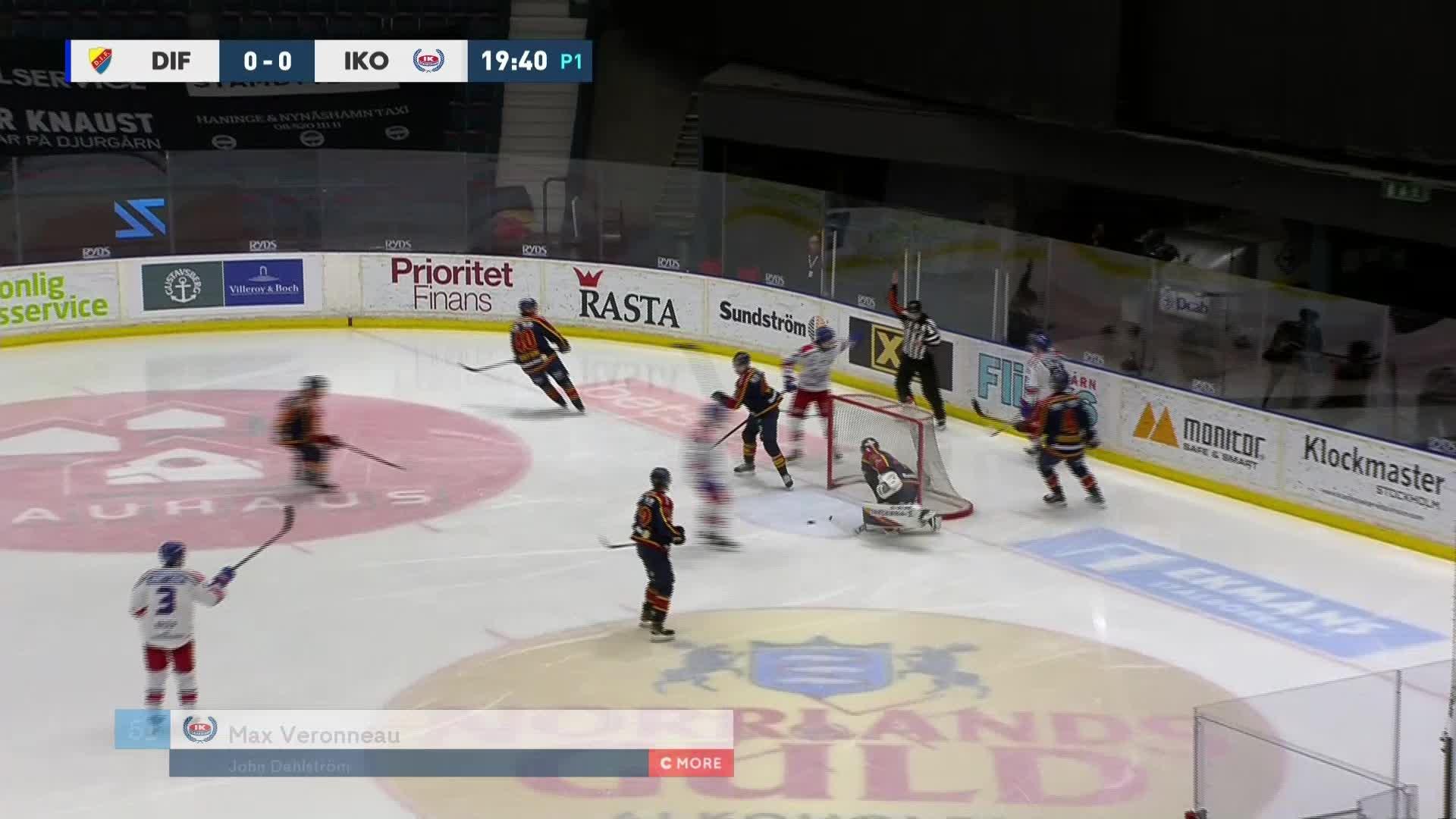 Djurgården Hockey - IK Oskarshamn 0-1