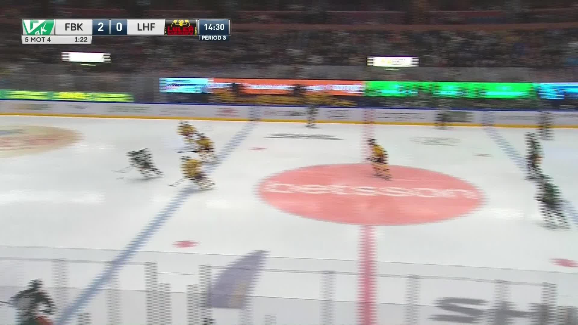Färjestad BK - Luleå Hockey 3-0