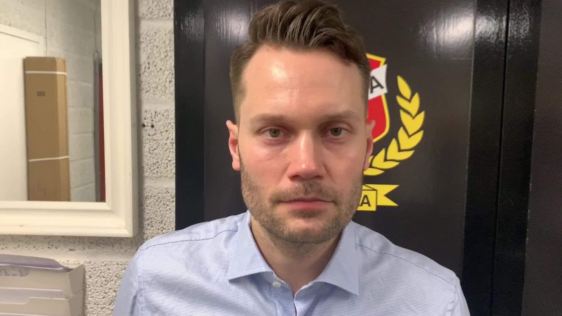 Martin Gudmundsson efter Tingsryd