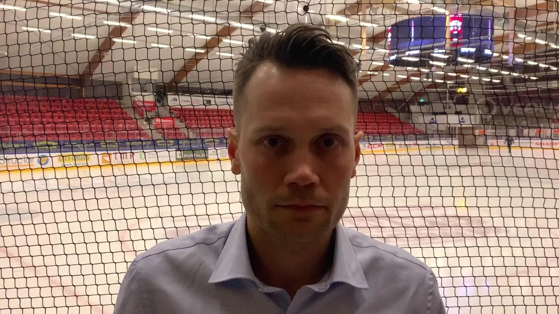 Martin Gudmundsson efter Södertälje