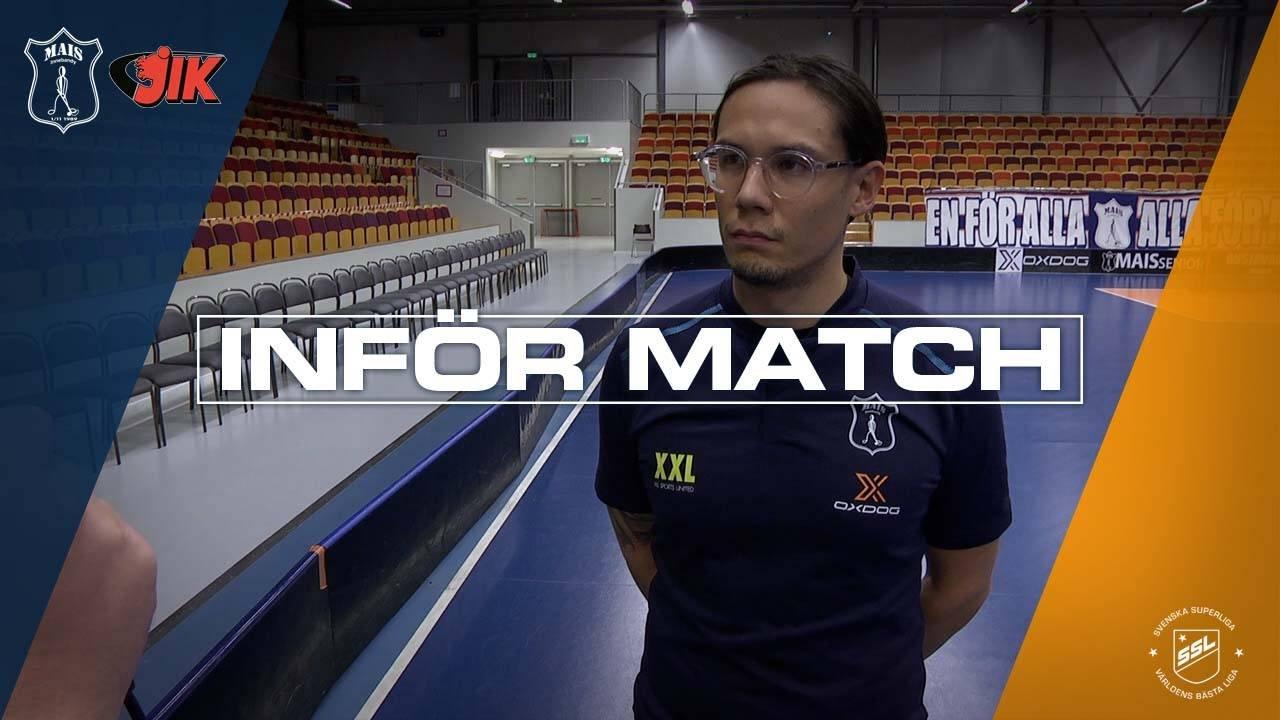 Kihlblom inför JIK i Svenska Cupen
