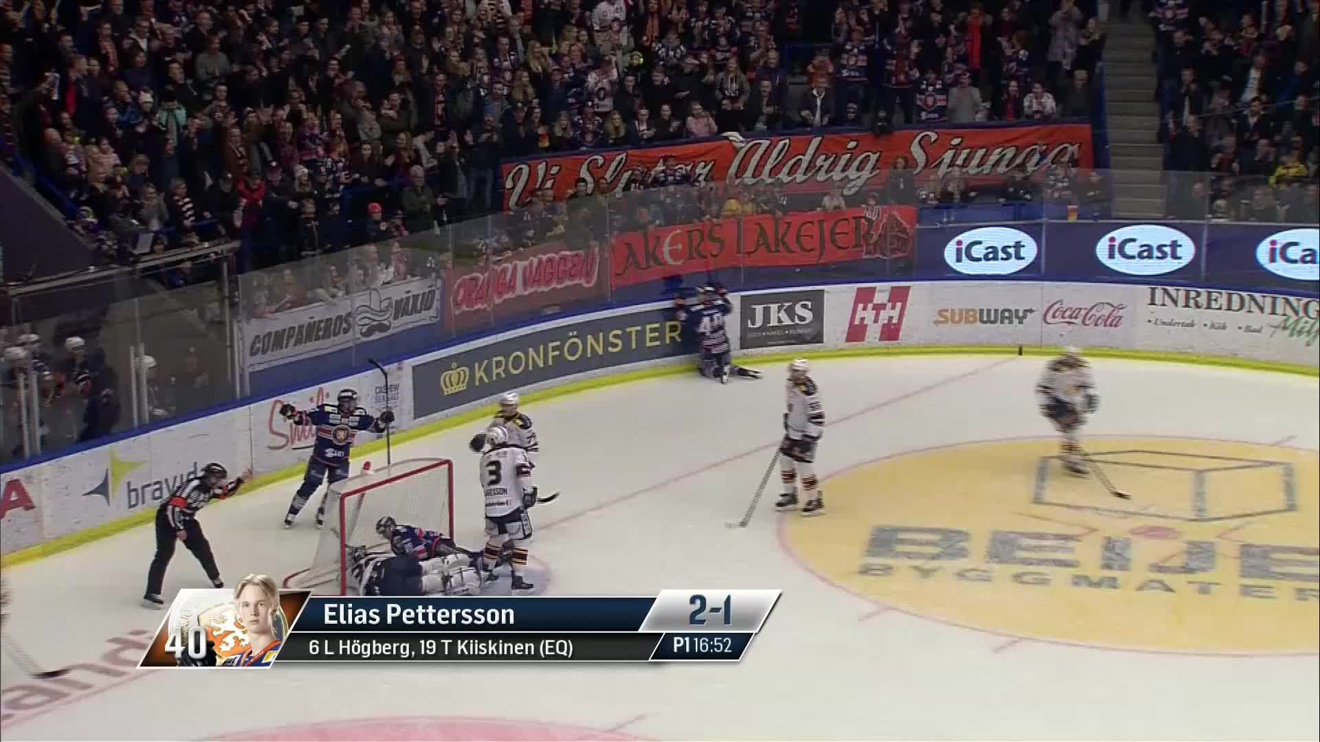 Växjö Lakers - Djurgården Hockey 2-1