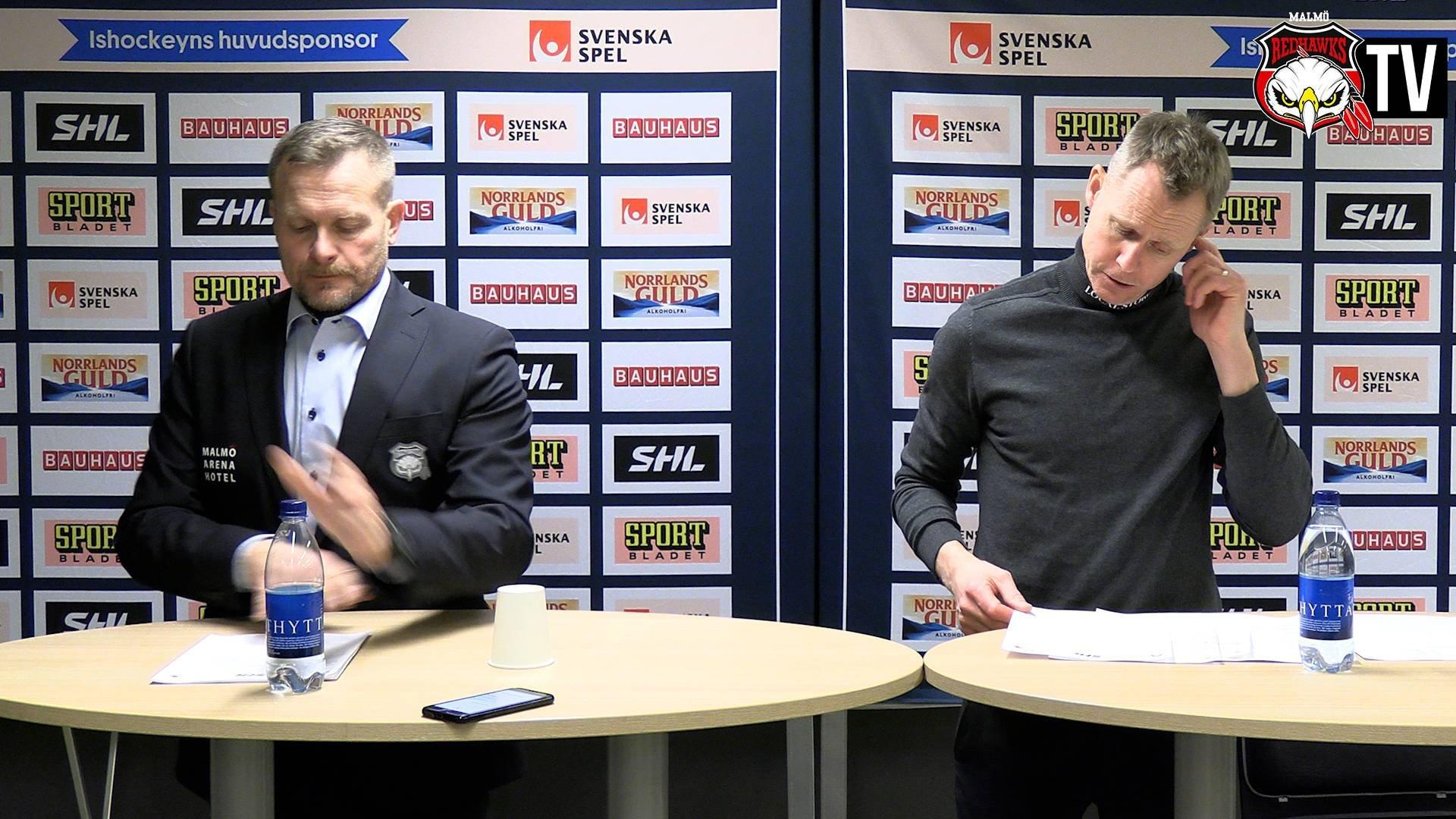 Presskonferens Malmö - Skellefteå