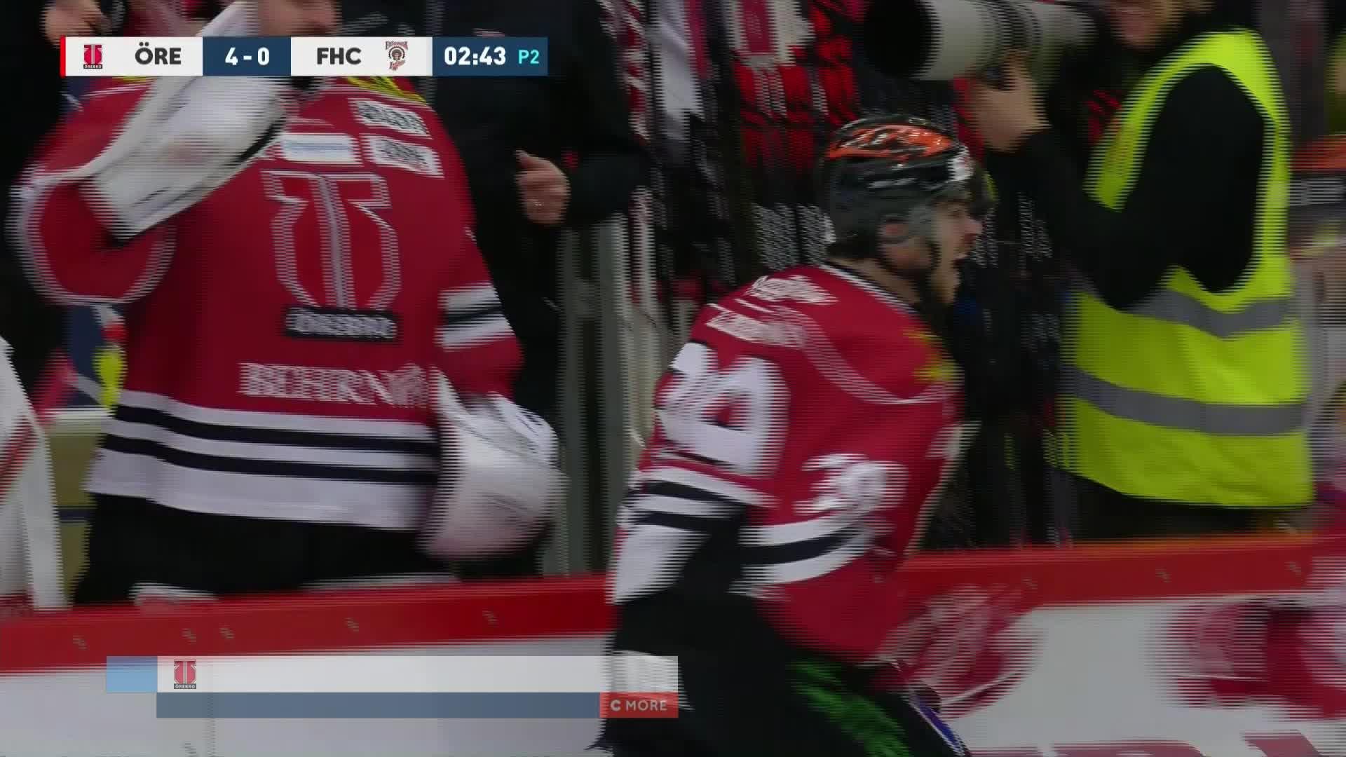 Örebro Hockey - Frölunda HC 4-0