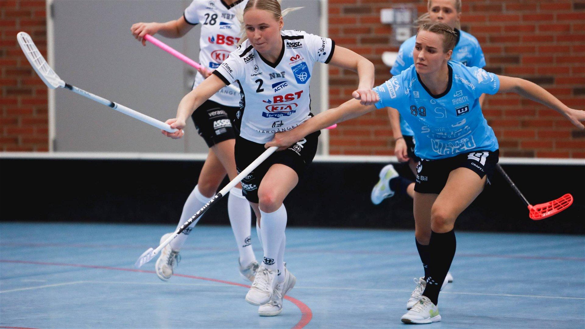 Highlights: Nacka Wallenstam IBK - Warberg IC