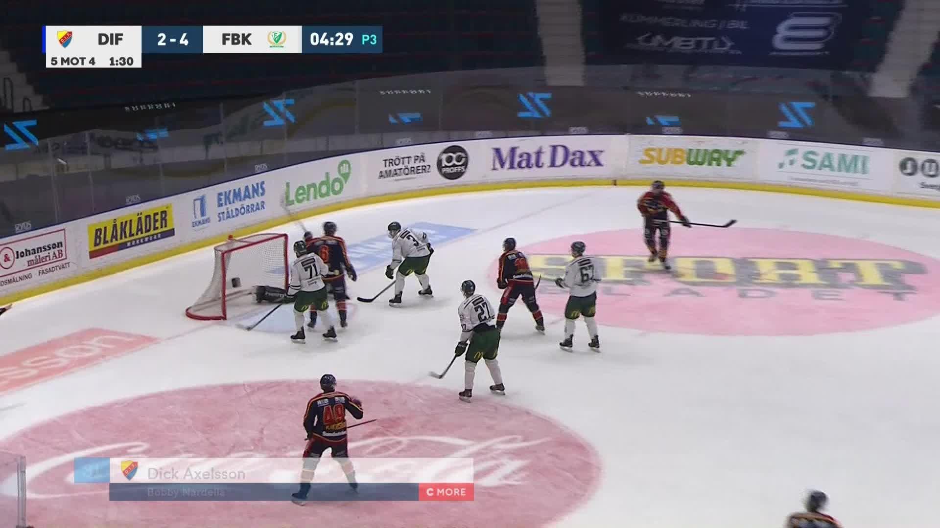Djurgården Hockey - Färjestad BK 3-4