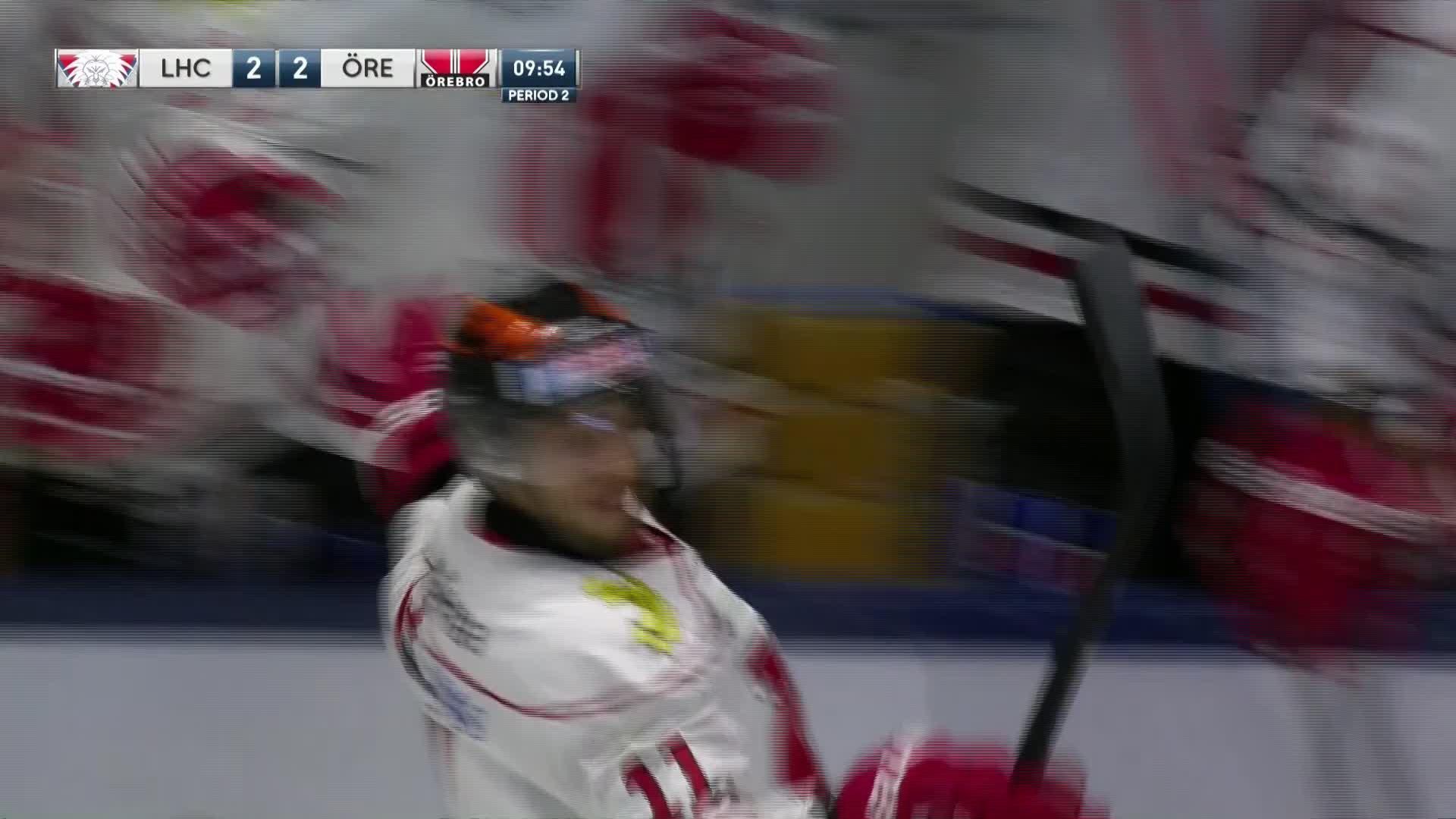Linköping HC - Örebro Hockey 2-2