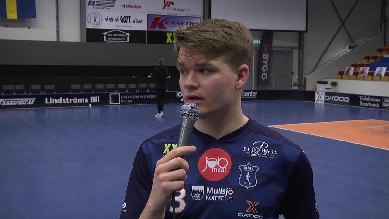 Slutspelets premiärmålskytten Wille Knuthas - Kvartsfinal 1