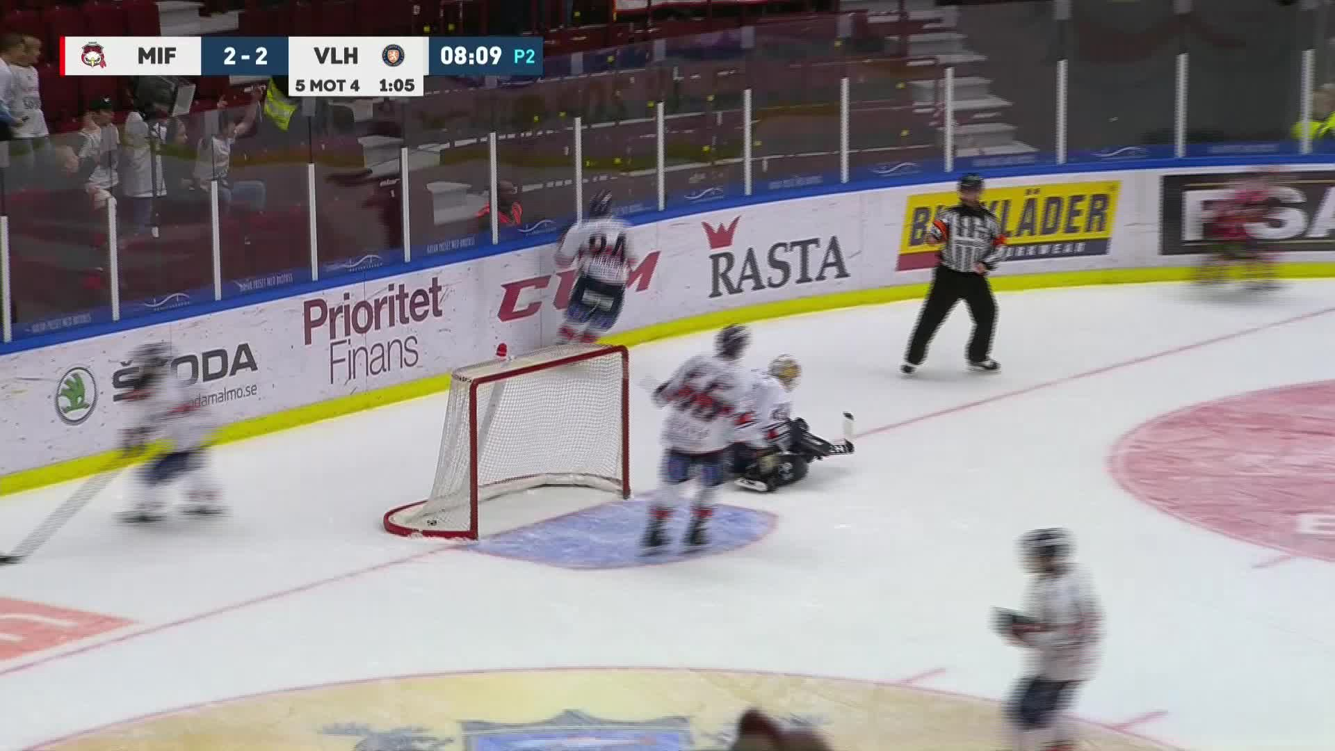 Malmö Redhawks - Växjö Lakers 3-2