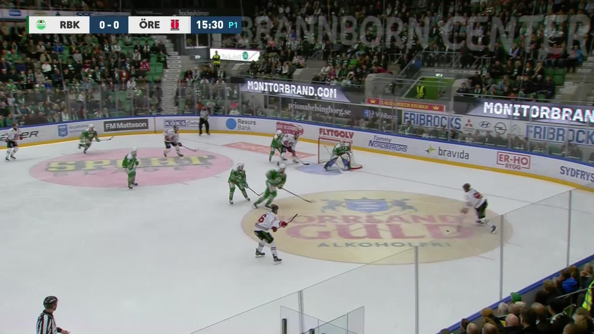 Rögle BK - Örebro Hockey 0-1