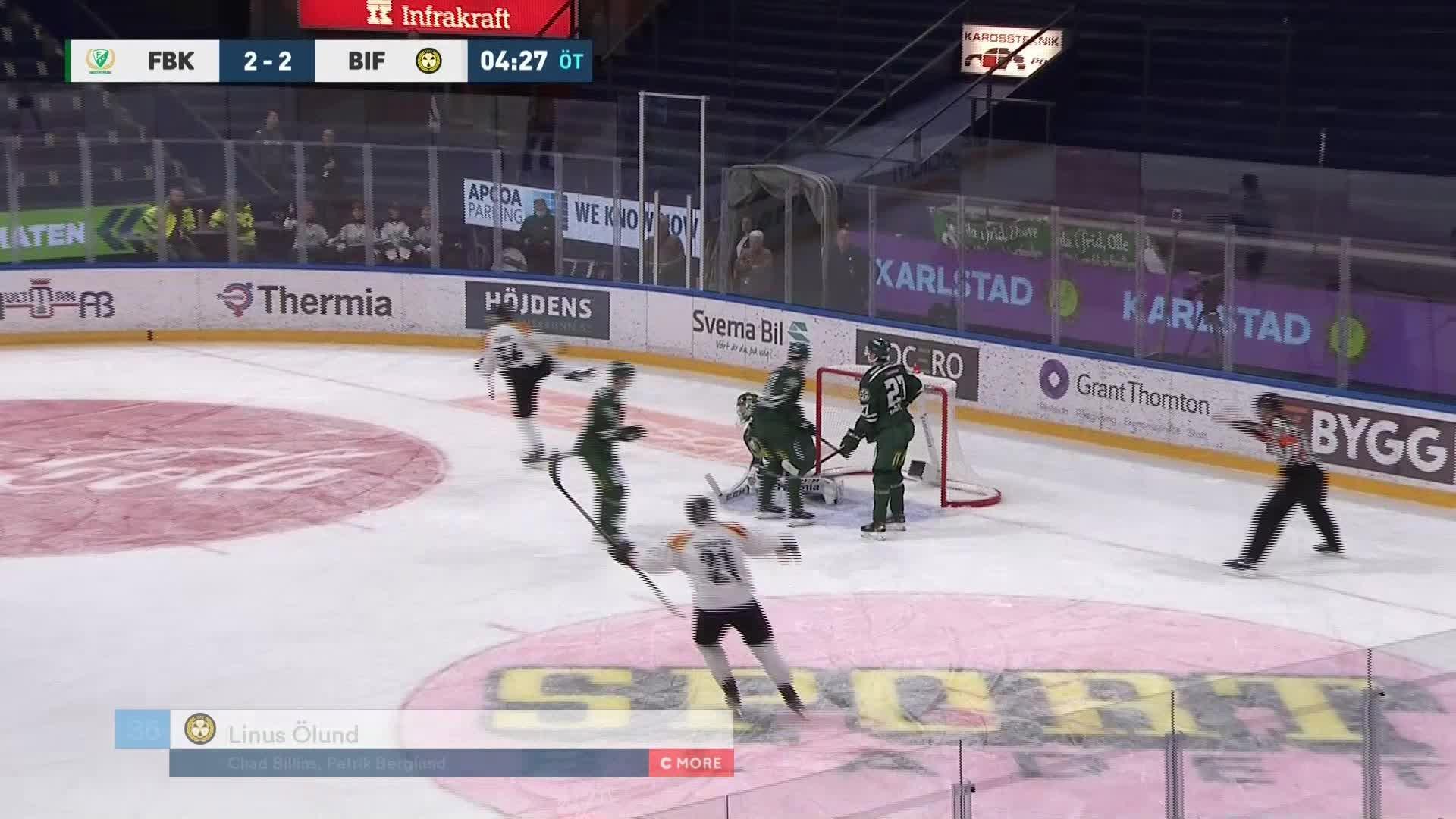 Färjestad BK - Brynäs IF 2-3