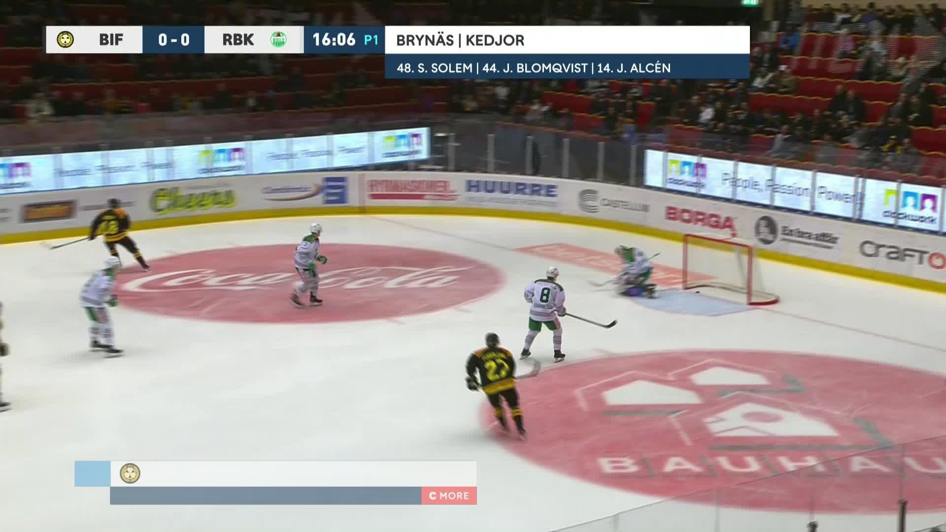 Brynäs IF - Rögle BK 1-0