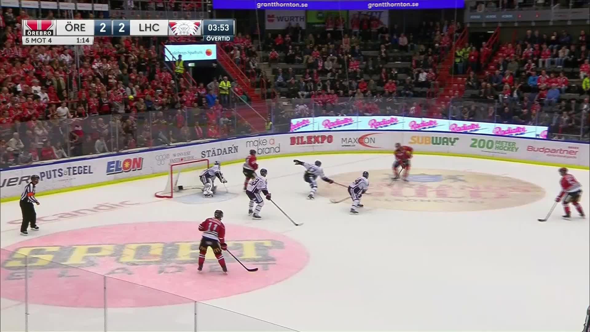 Örebro Hockey - Linköping HC 3-2