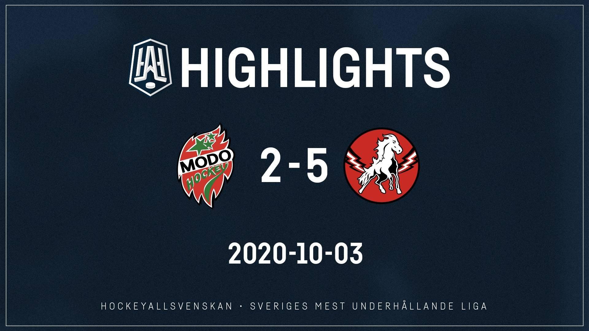 2020-10-03 MODO - Vita Hästen 2-5