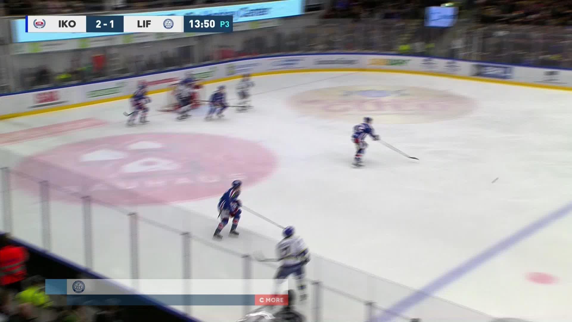 IK Oskarshamn - Leksands IF 2-2
