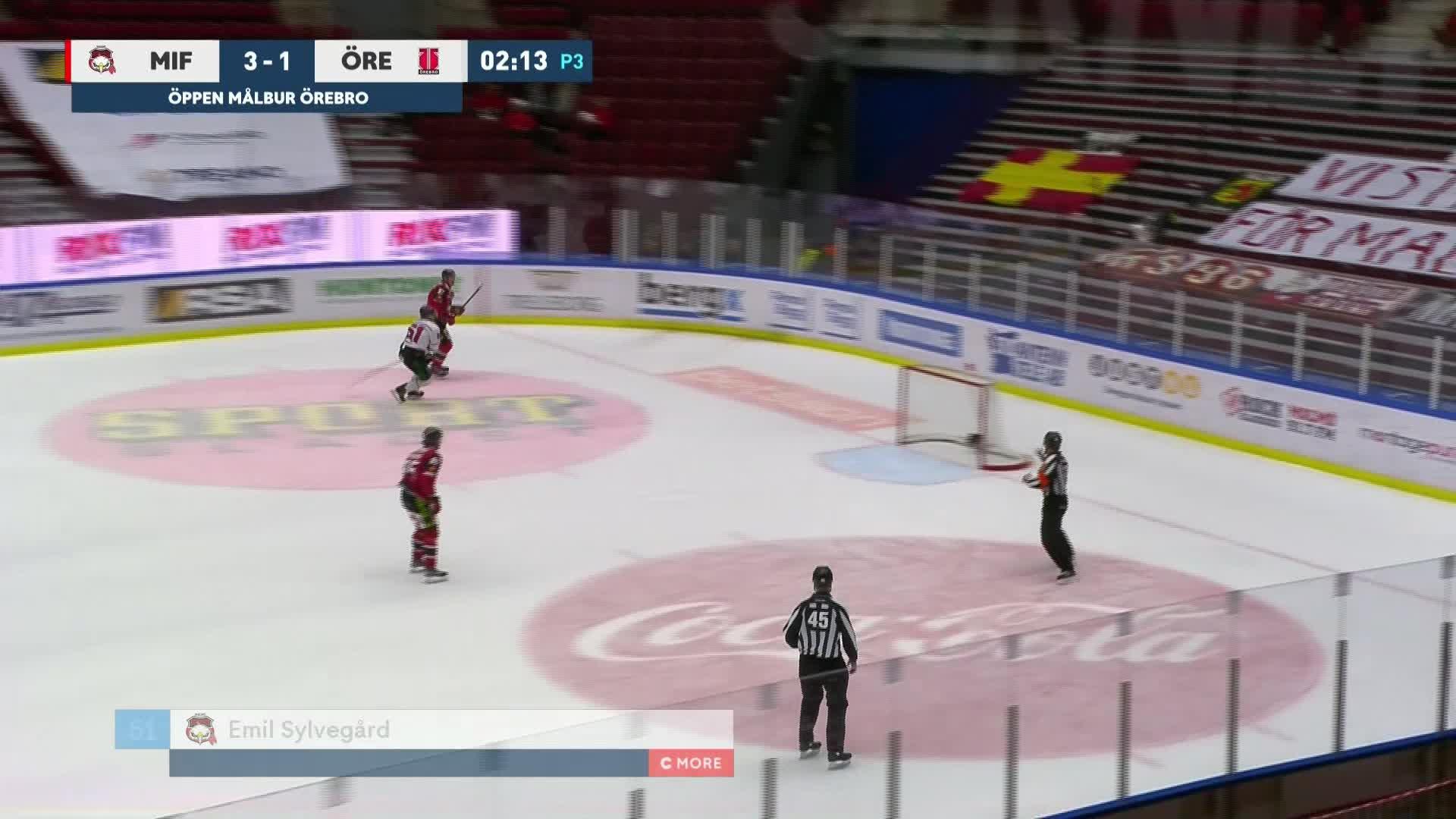 Malmö Redhawks - Örebro Hockey 4-1