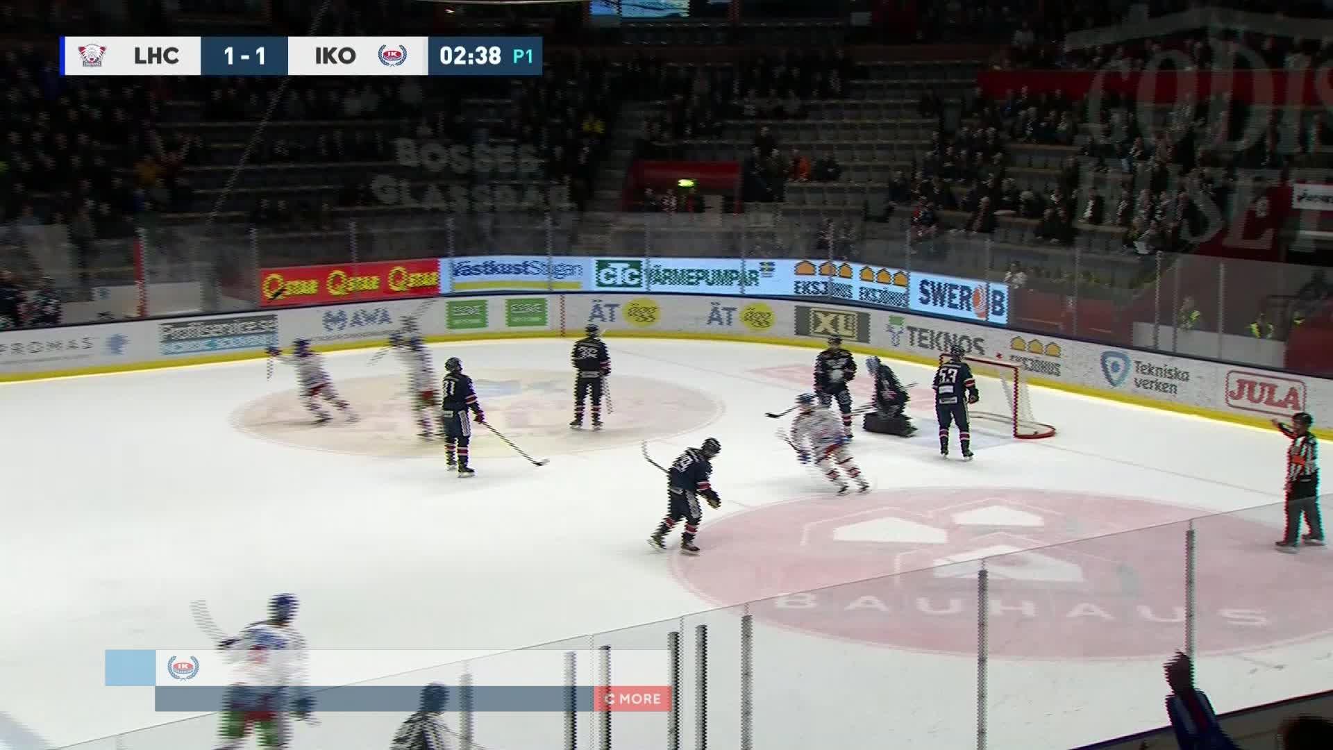 Linköping HC - IK Oskarshamn 1-2