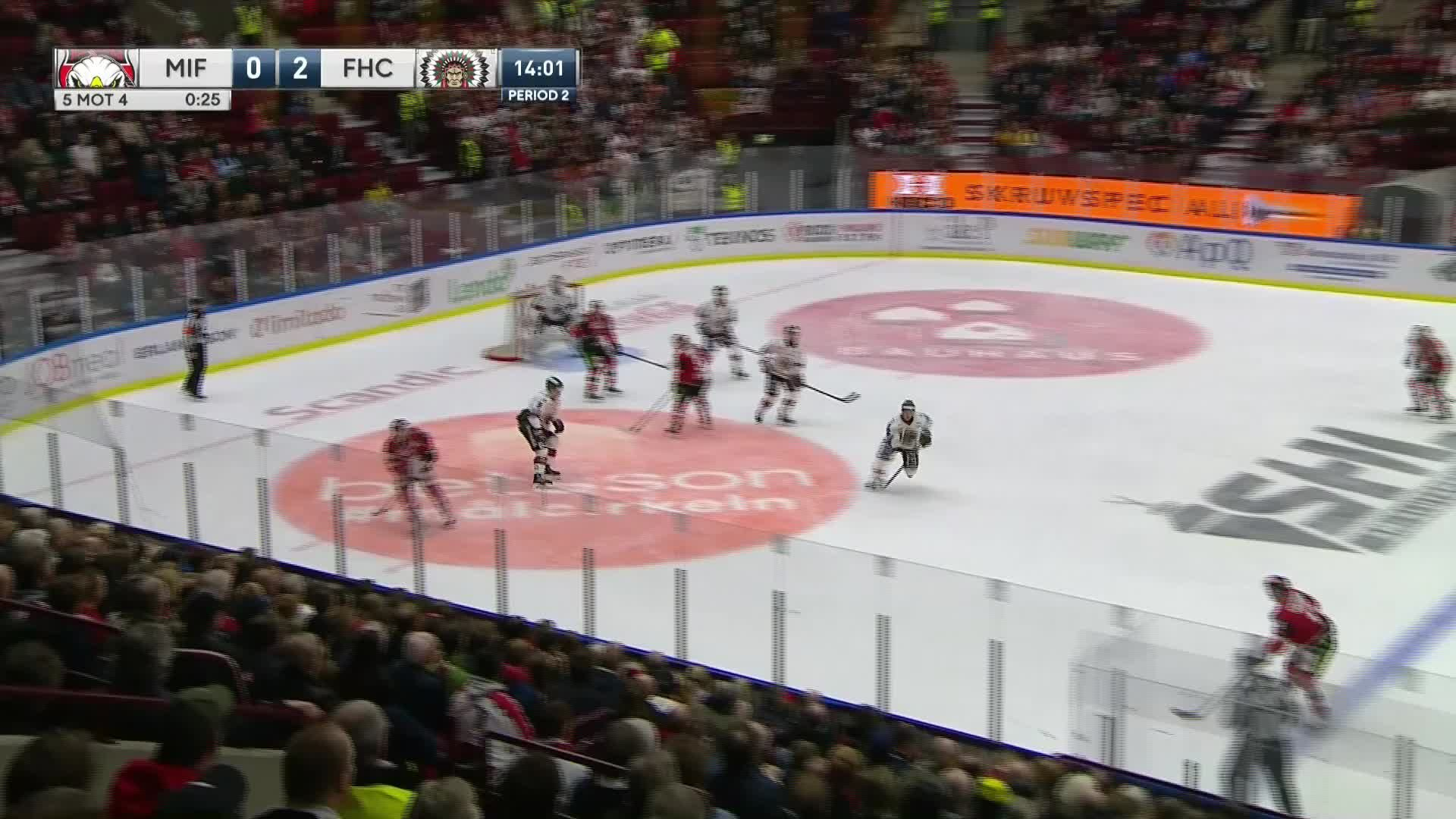 Malmö Redhawks - Frölunda HC 1-2