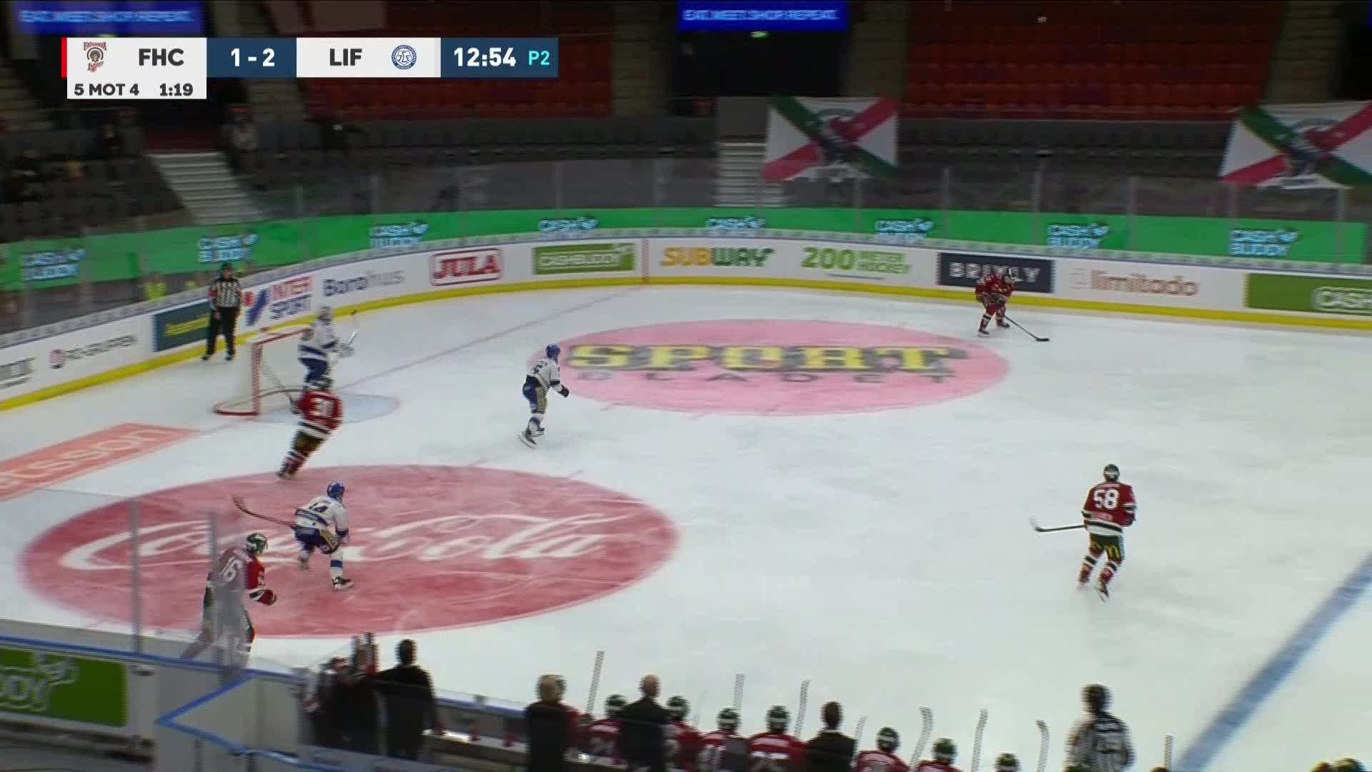 Frölunda HC - Leksands IF 2-2