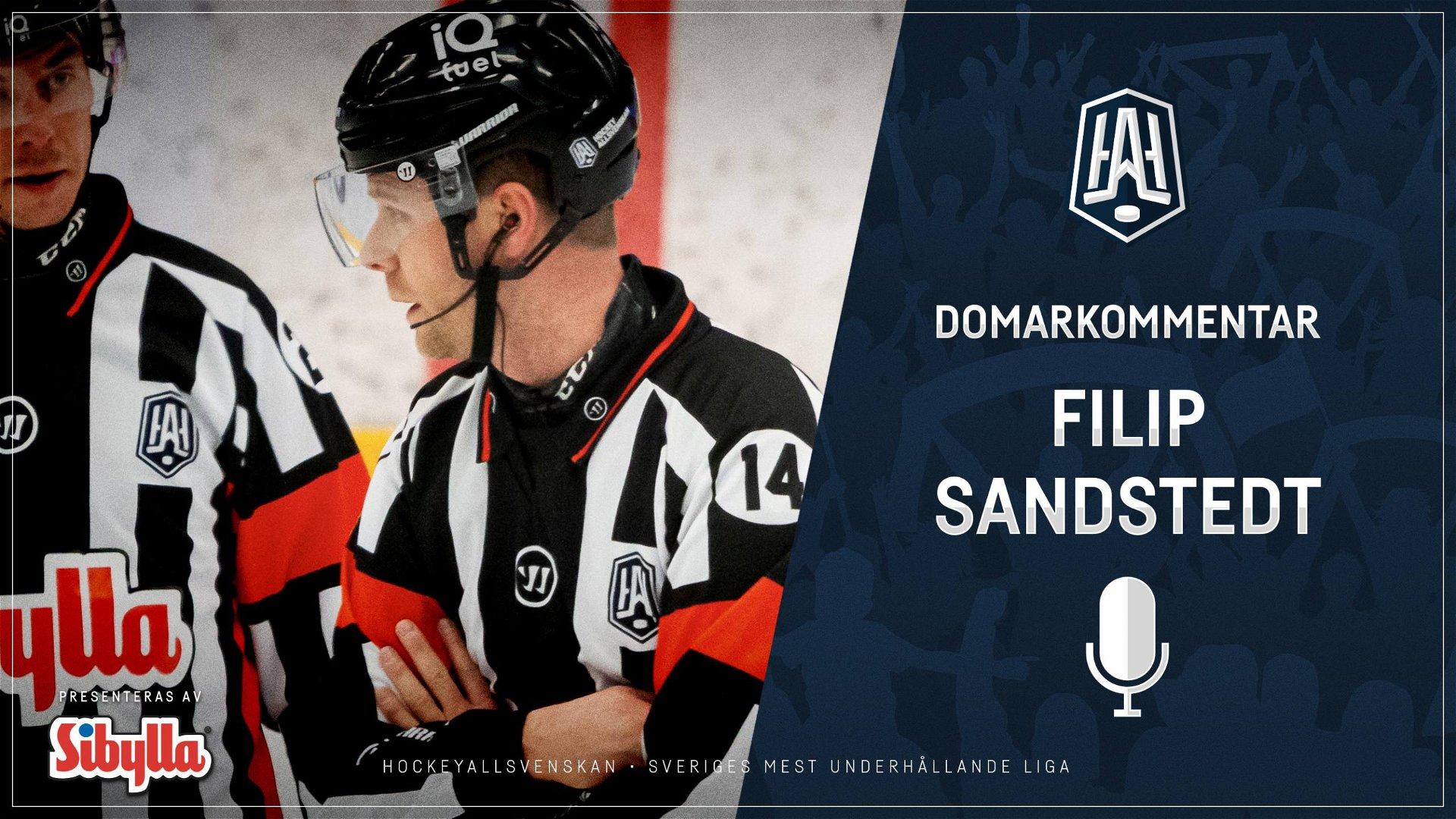 Domarkommentar: Filip Sandstedt