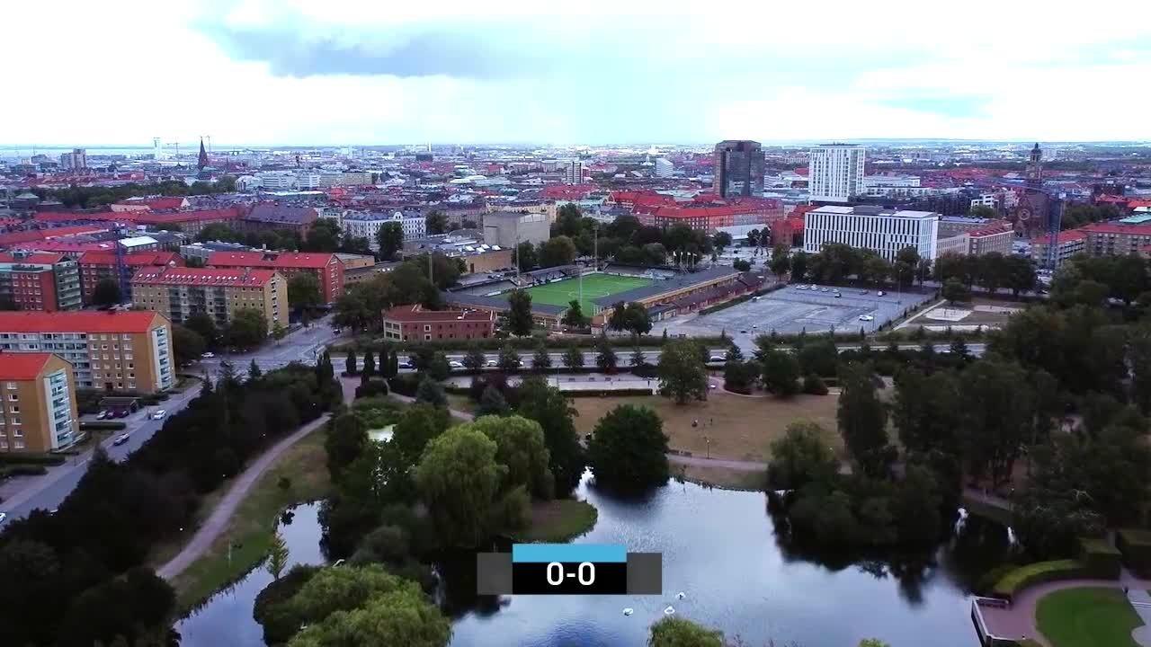 Highlights: Rosengård - Kopparberg/Gbg 23 aug