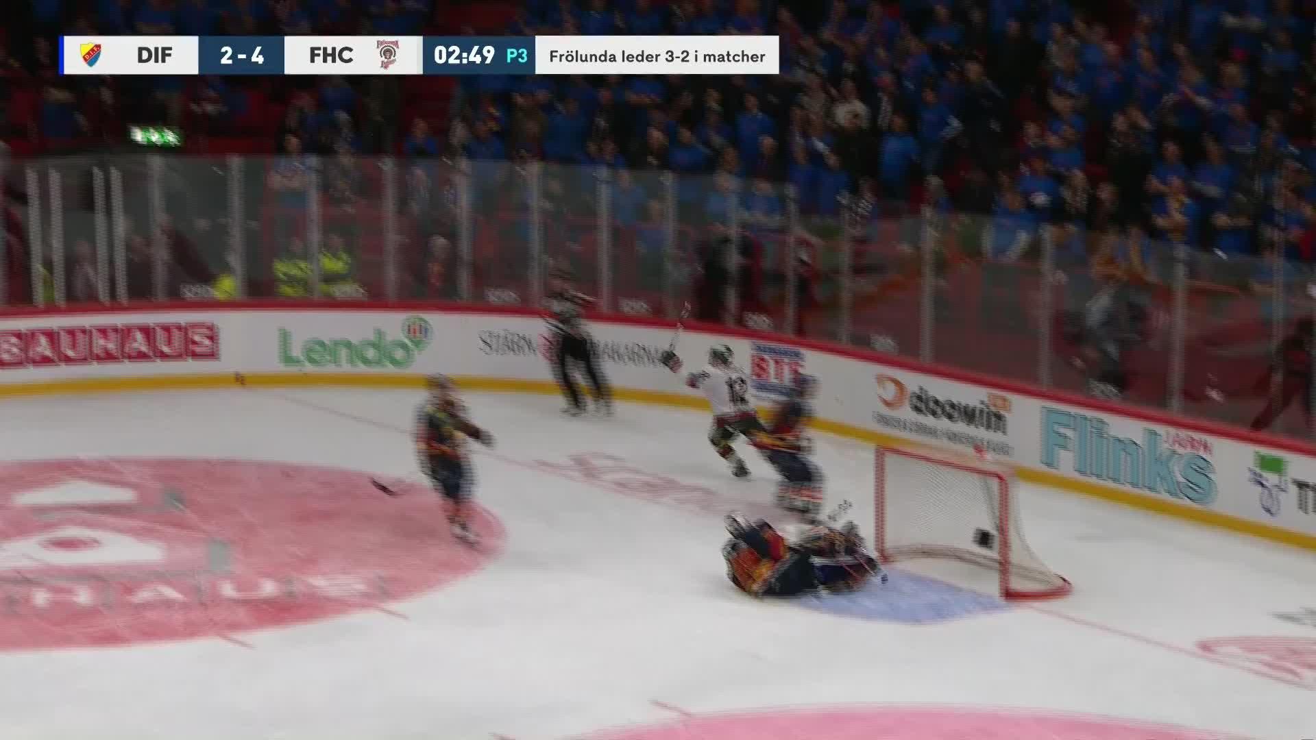 Djurgården Hockey - Frölunda HC 2-5