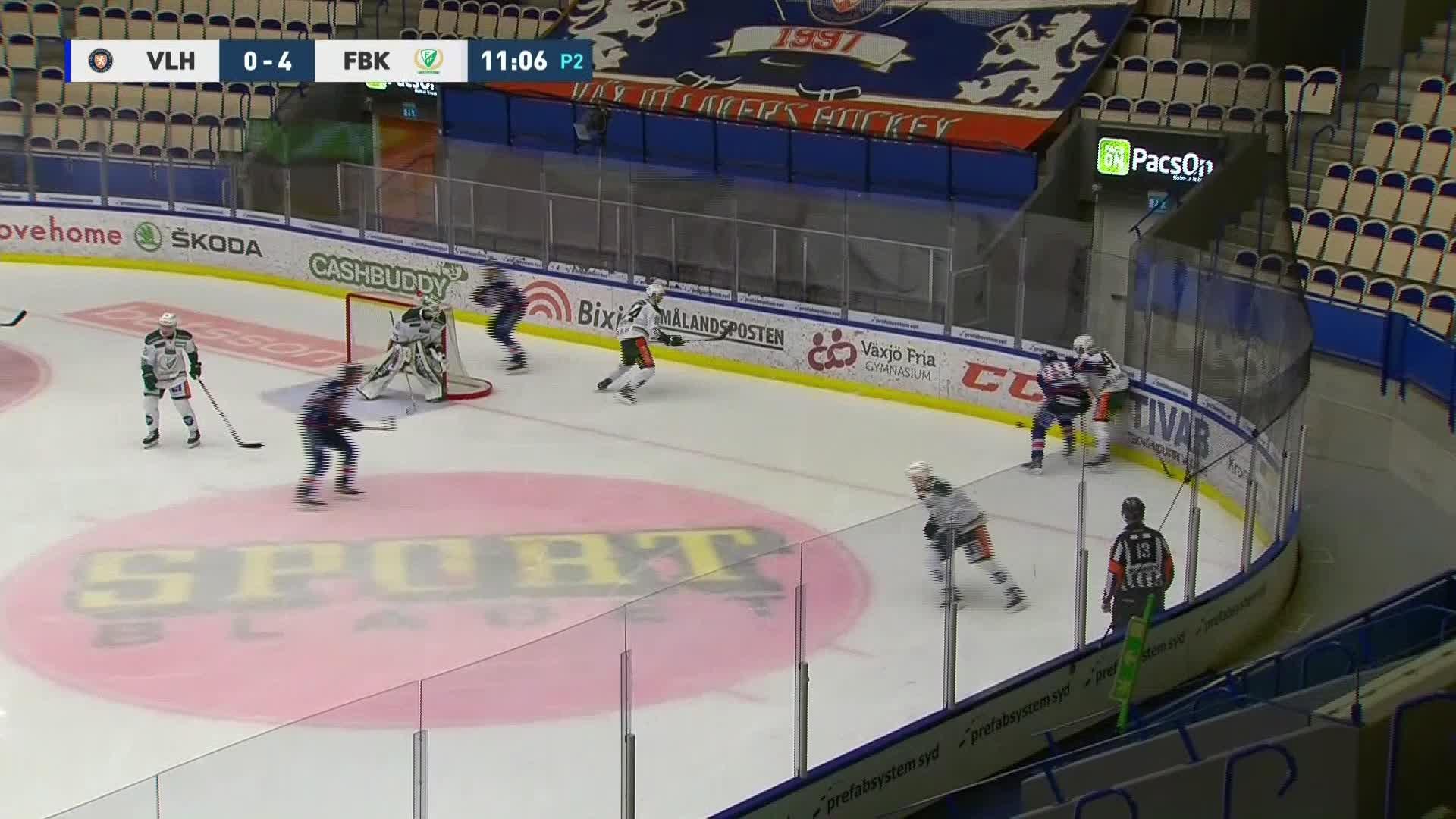 Växjö Lakers - Färjestad BK 1-4
