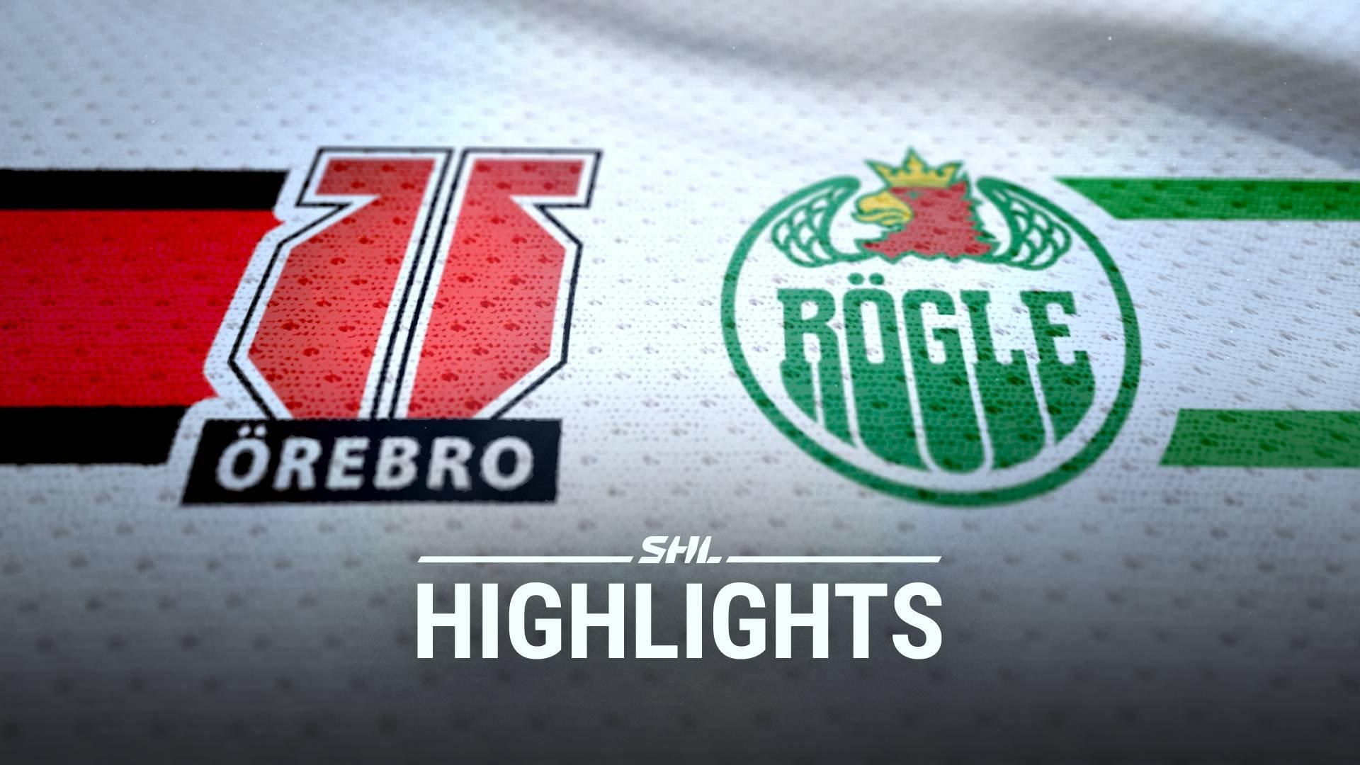 TV: Örebro Hockey - Rögle BK